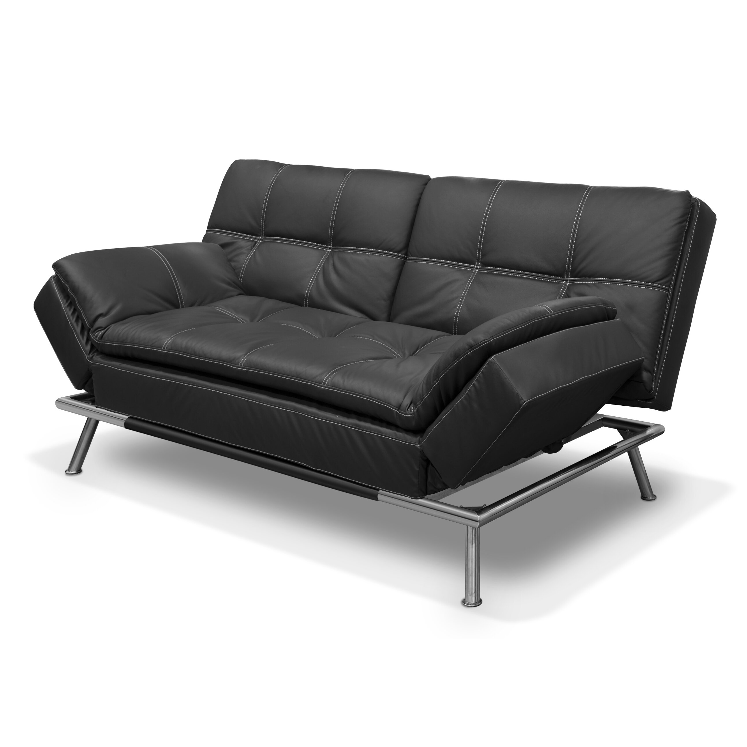 Wade Logan Wyatts Lounger Sleeper Sofa Wayfair