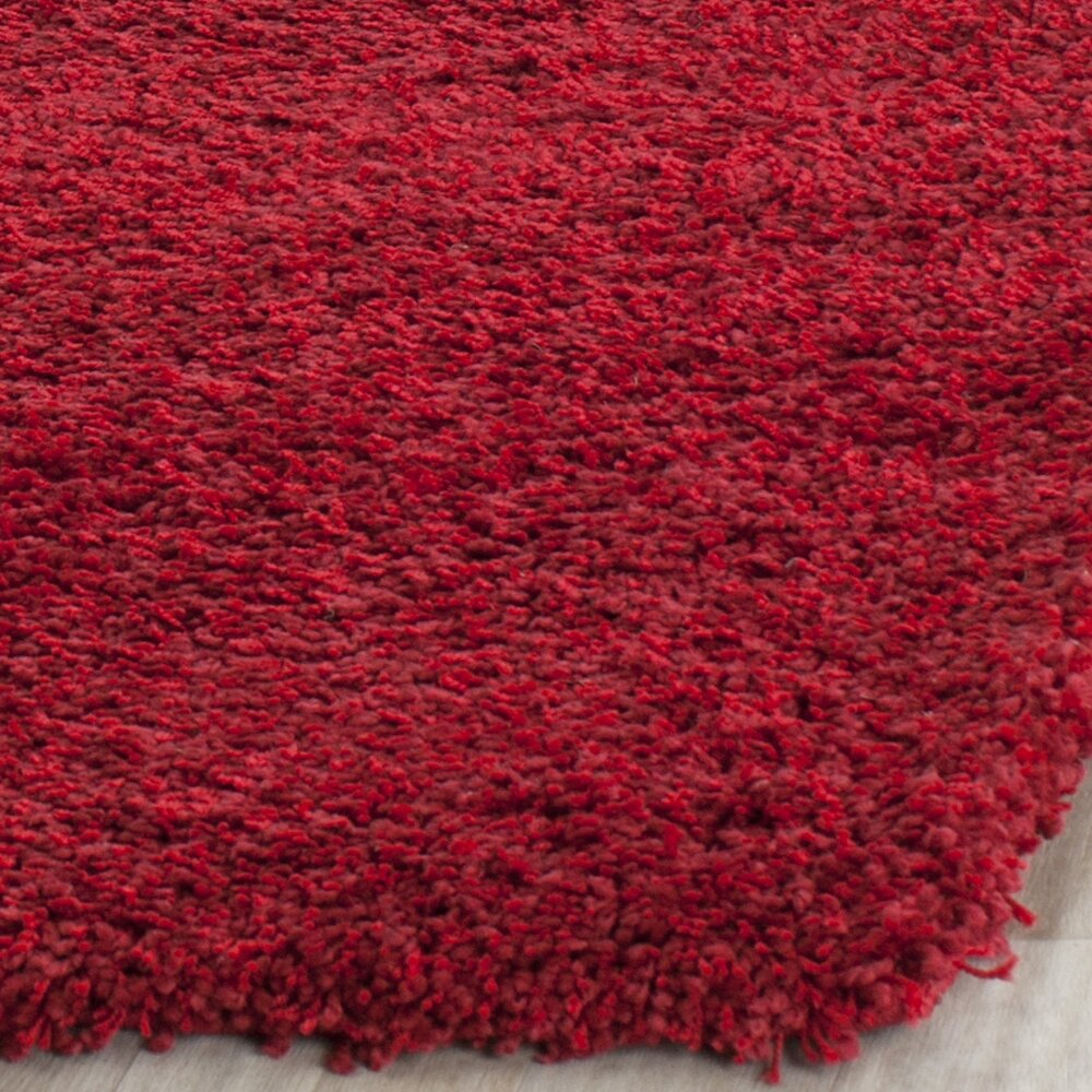 wade logan rowen red area rug reviews wayfair
