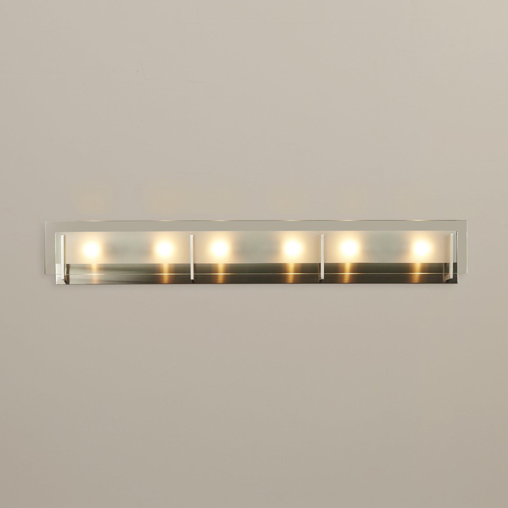 Corrigan Studio Kimber 6 Light Bath Bar Amp Reviews Wayfair