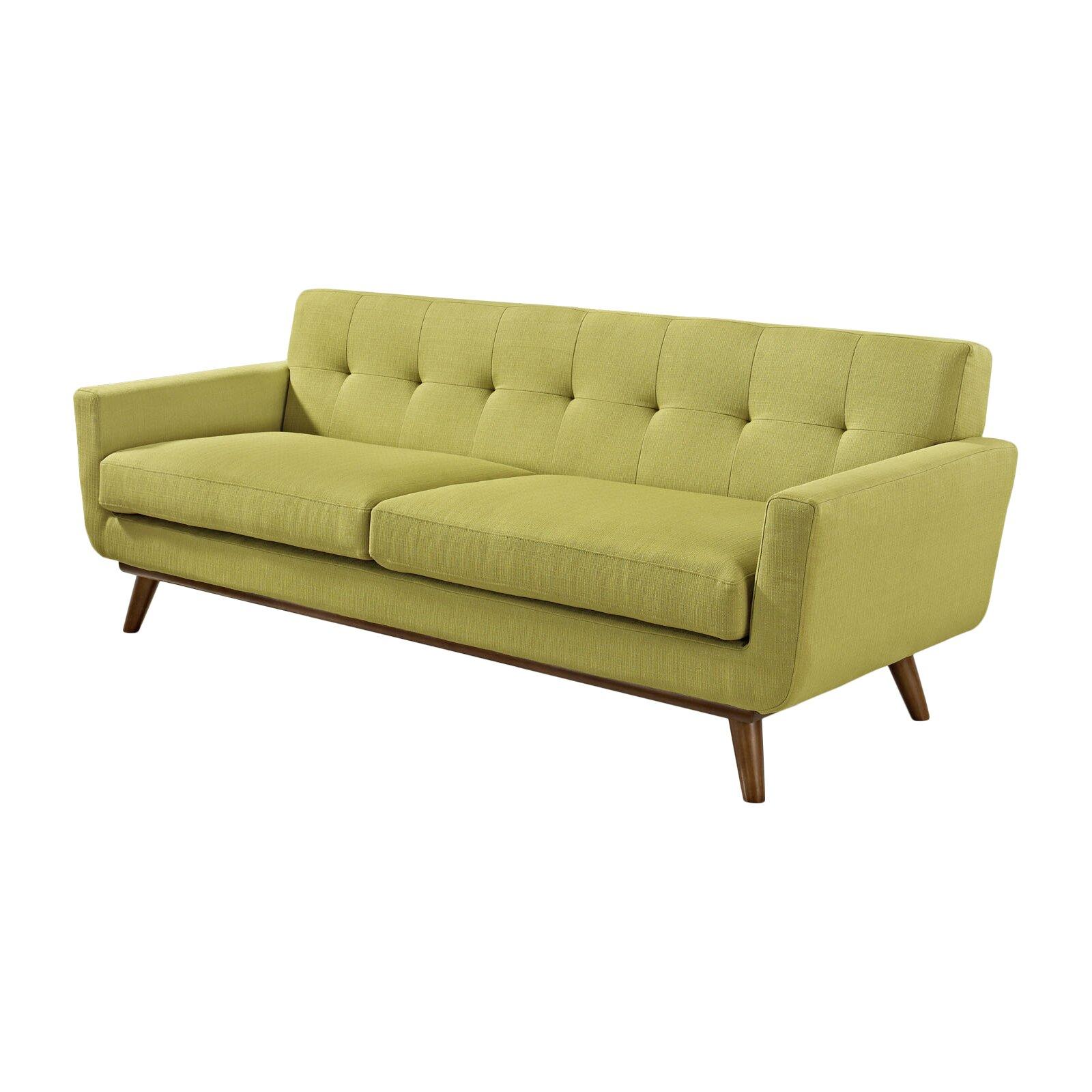 Corrigan Studio Saginaw Upholstered Sofa Reviews Wayfair