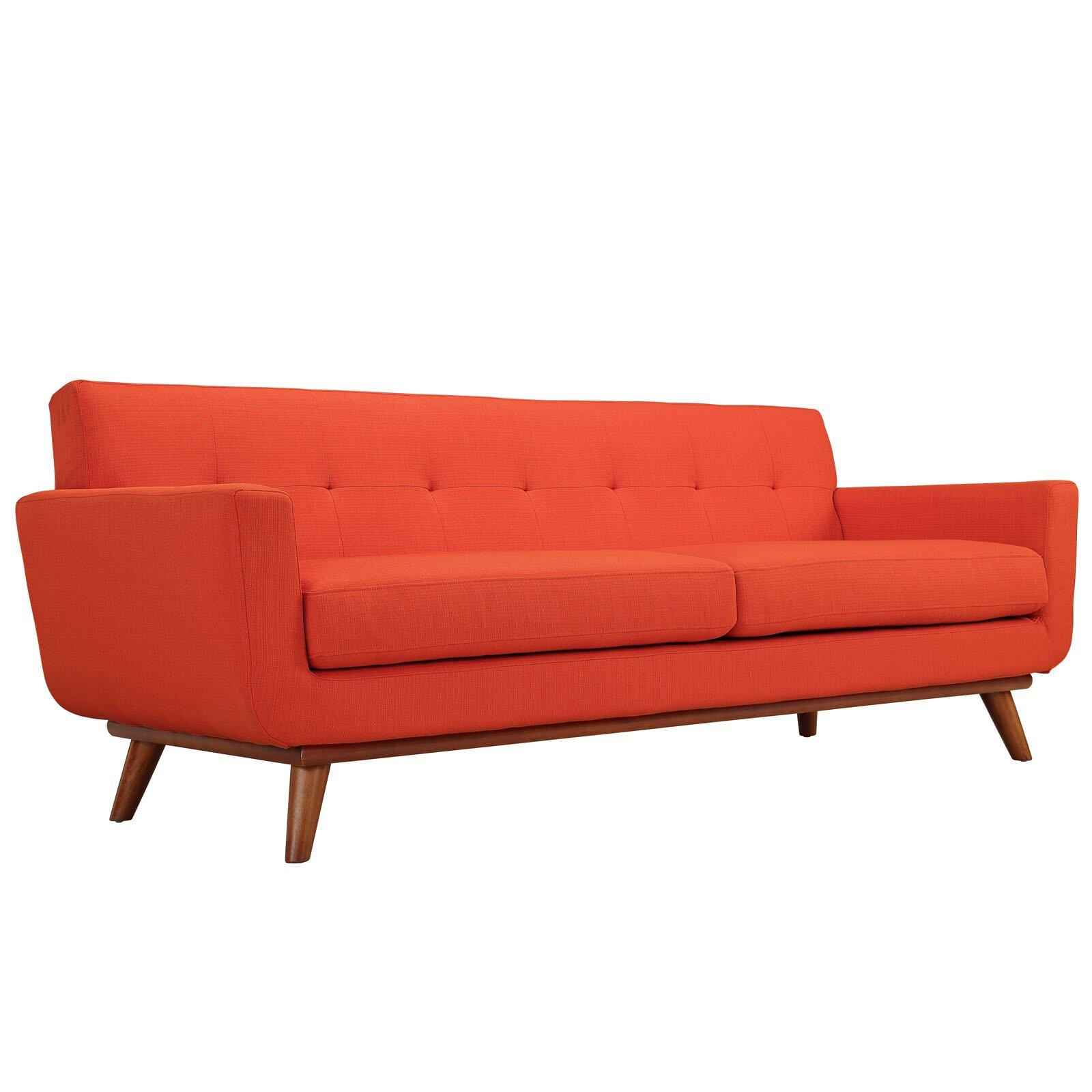 Corrigan Studio Saginaw Upholstered Sofa & Reviews   Wayfair
