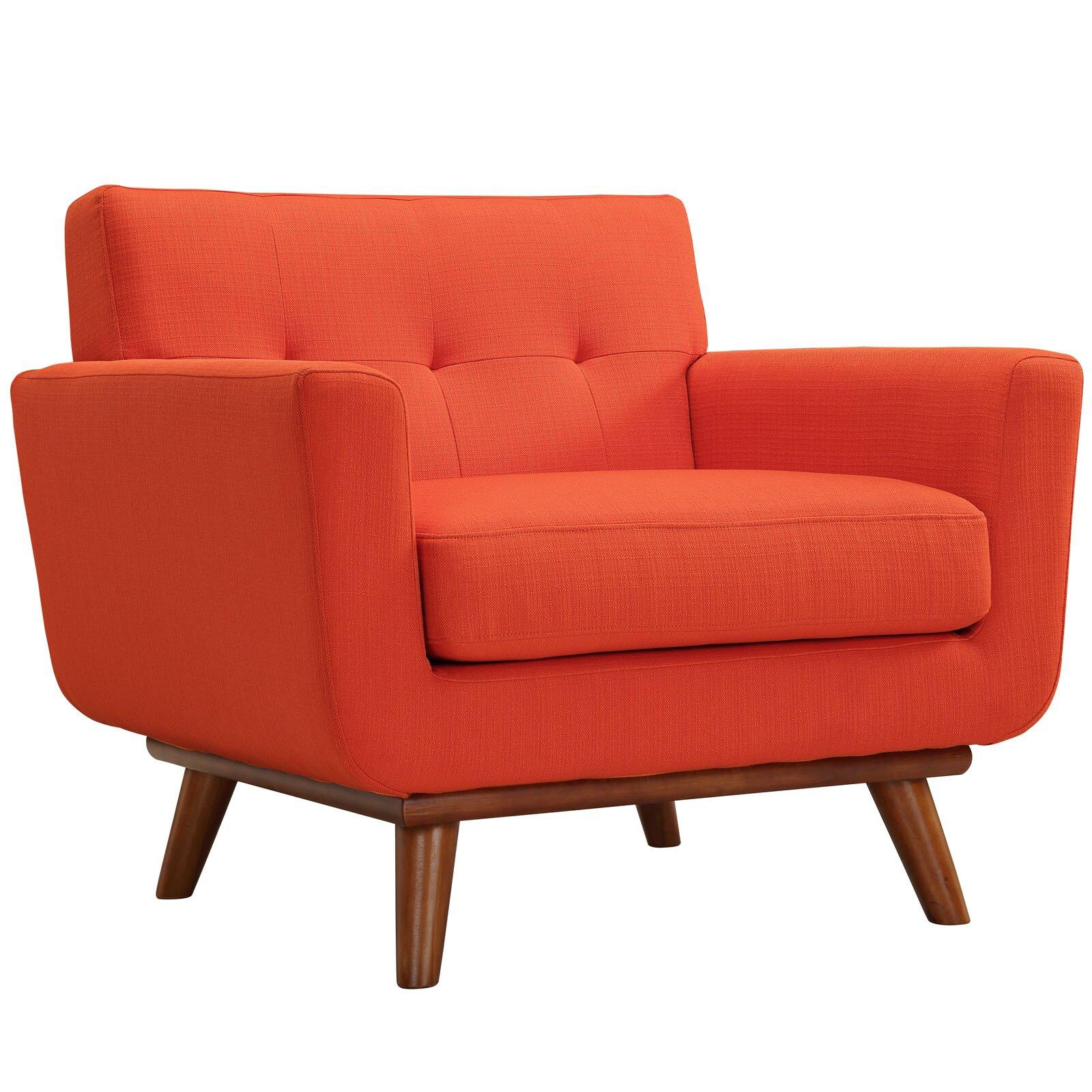 Corrigan Studio Saginaw Arm Chair And Loveseat Set Reviews Wayfair