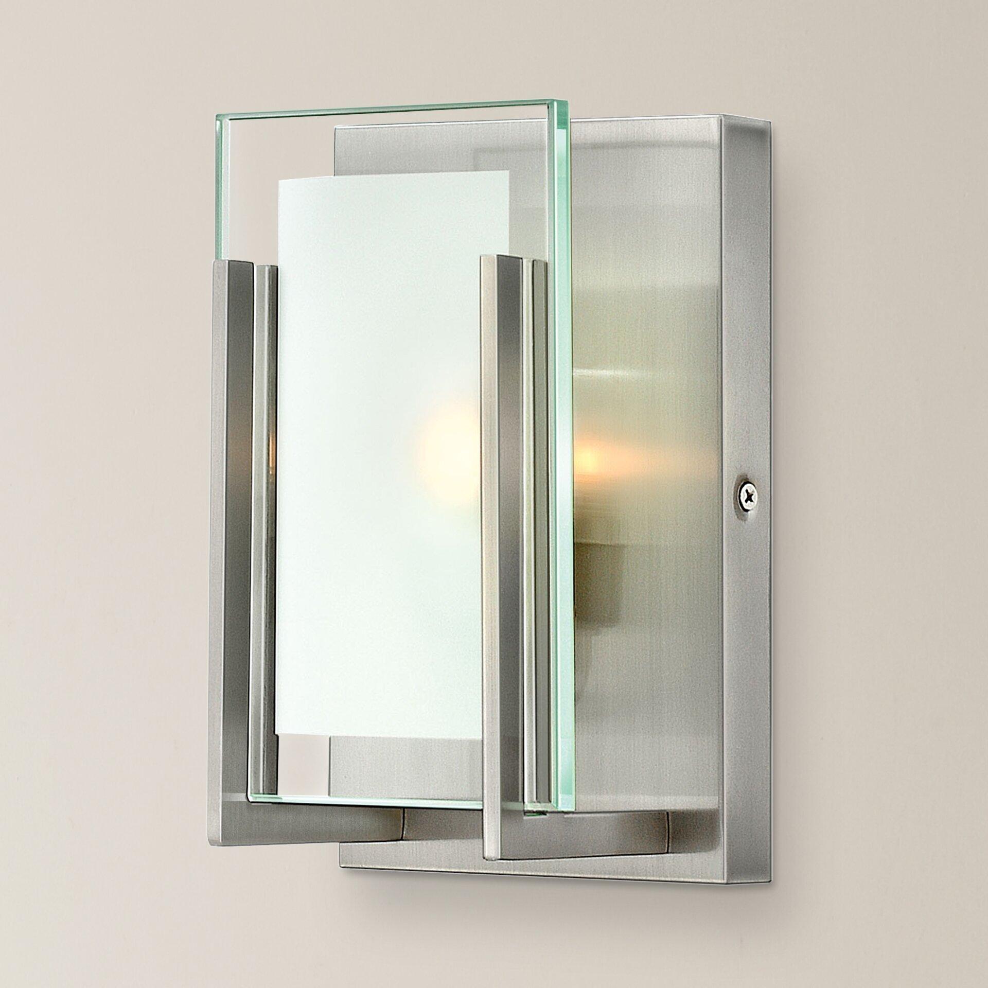 Vanity With Studio Lights : Corrigan Studio Kimber 1 Light Bath Vanity Light & Reviews Wayfair