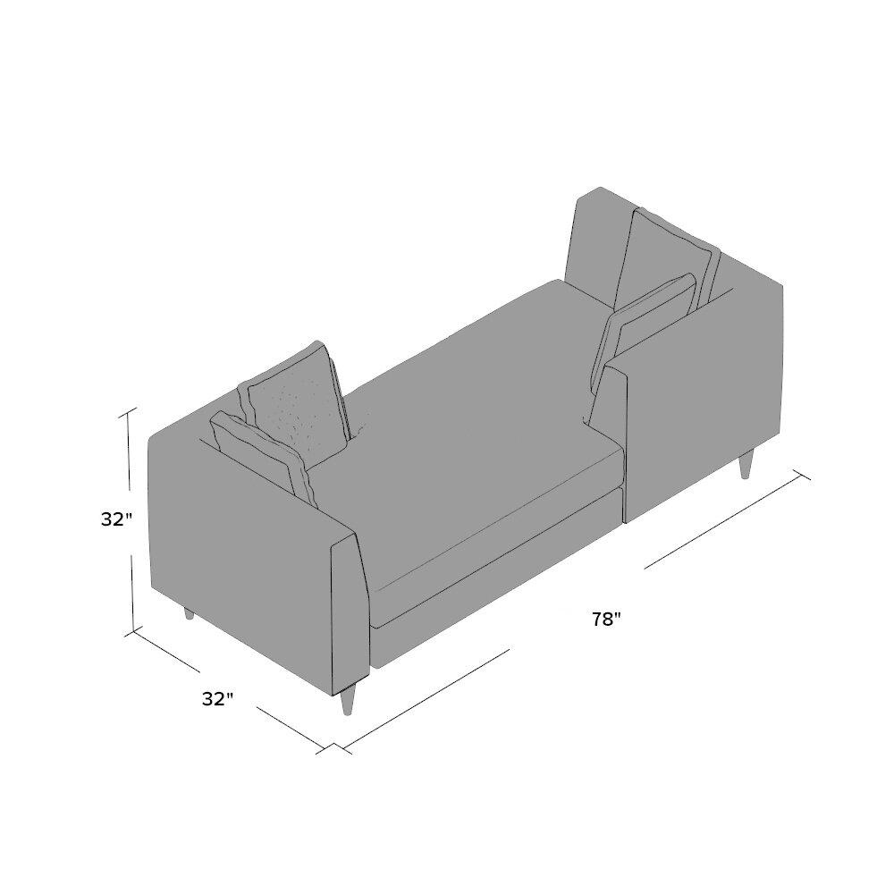 corrigan studio hayward double end chaise lounge astaire linen chaise lounge