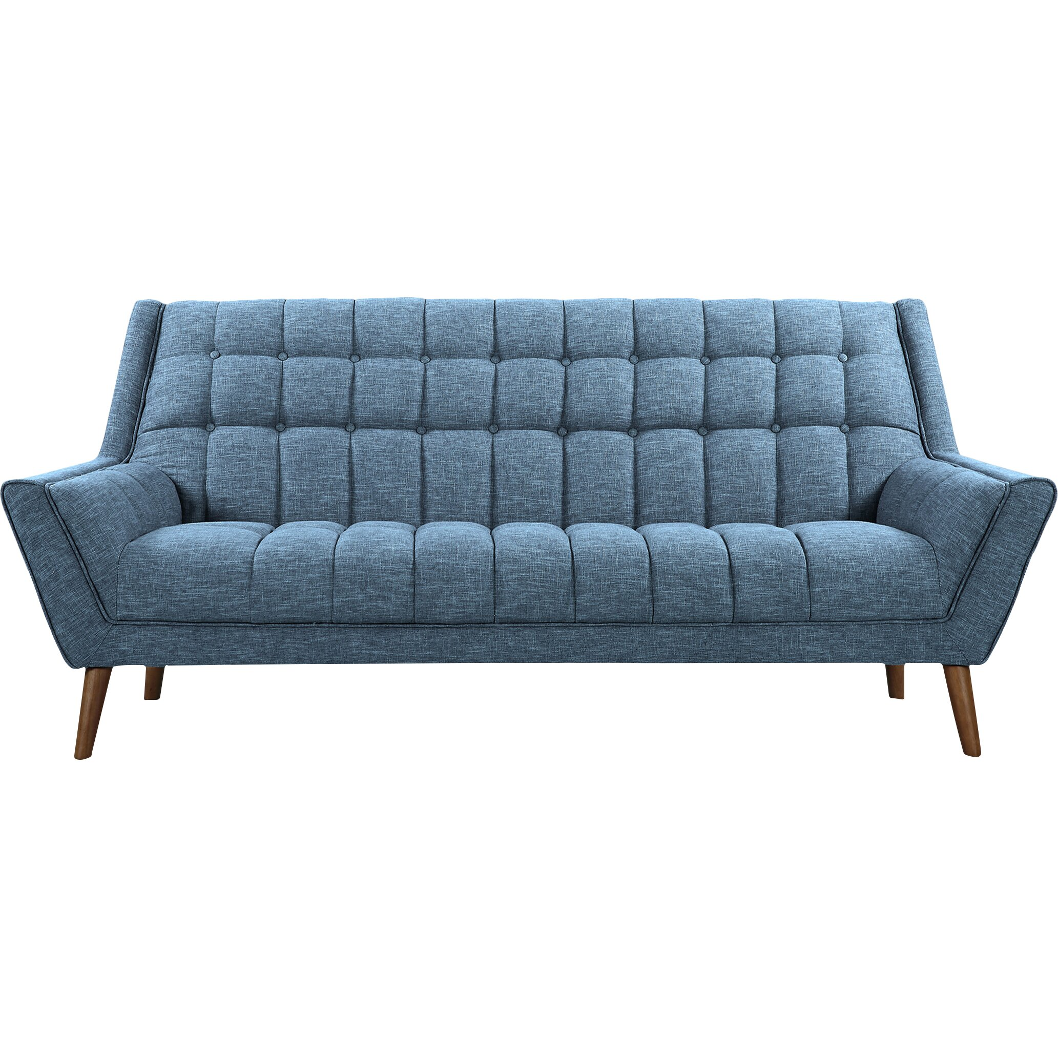 Mid century modern sofa home interior design for Modern love seats
