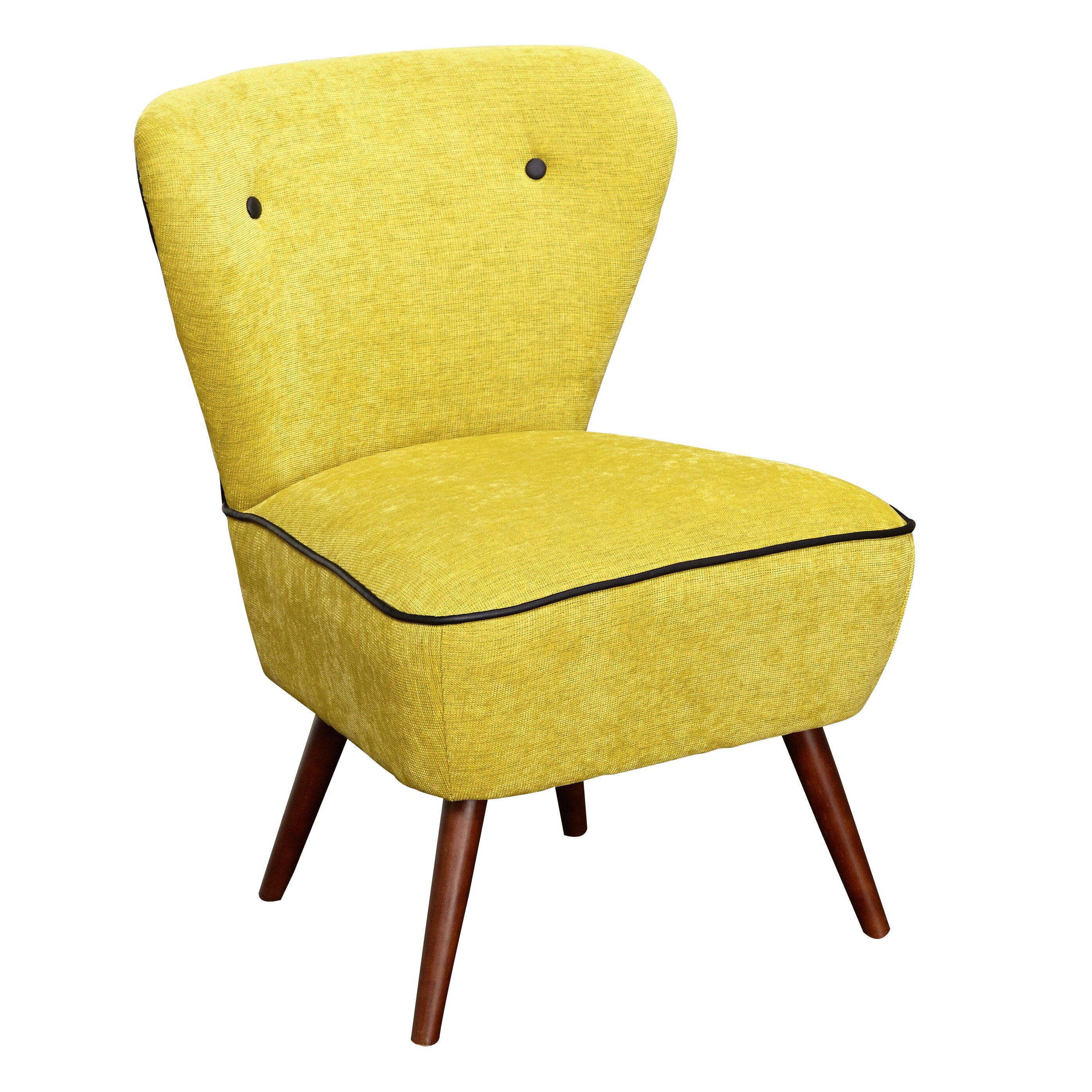 Langley street portland slipper chair reviews wayfair for Slipper chair