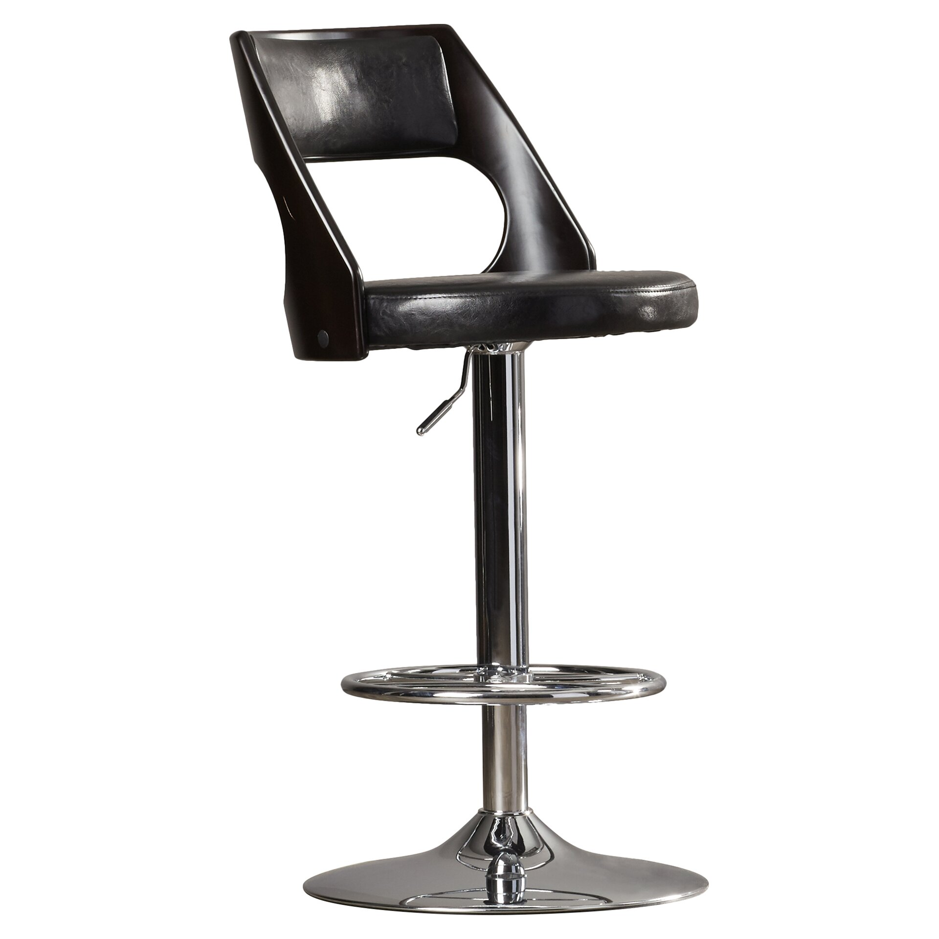 bar height bar stools swivel langley street conejara  : Langley Street Conejara Adjustable Height Swivel Bar Stool LGLY1991 from newhairstylesformen2014.com size 1920 x 1920 jpeg 201kB