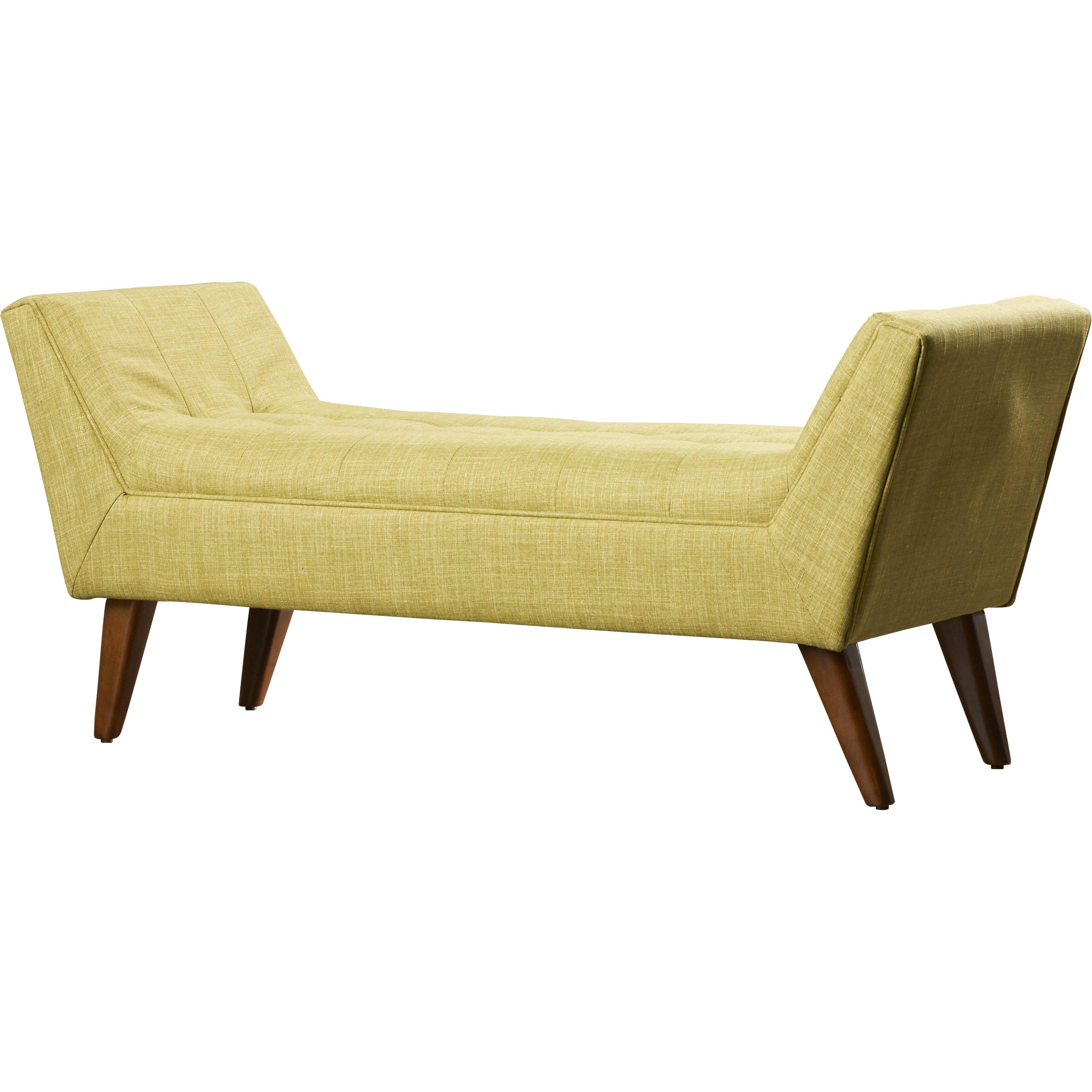 Langley Street Serena Upholstered Bedroom Bench & Reviews