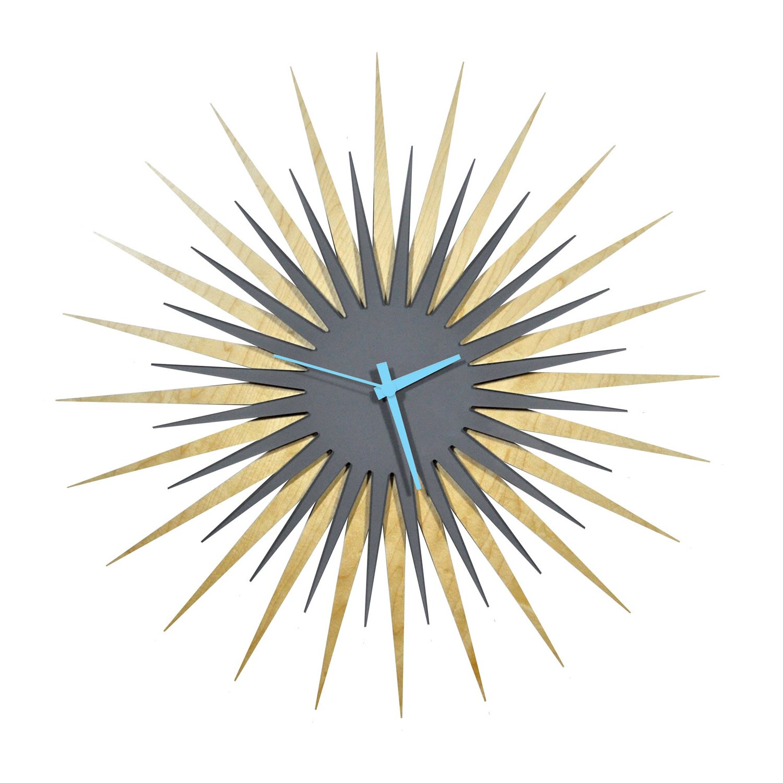 Langley Street Oversized 23 Atomic Wall Clock Reviews