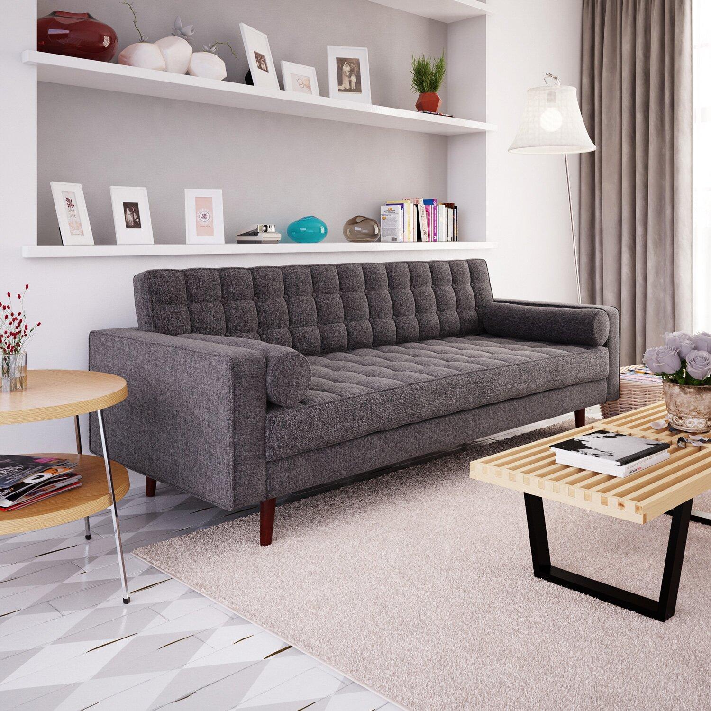 Langley street cosgrove sofa reviews wayfair for Outdoor furniture langley