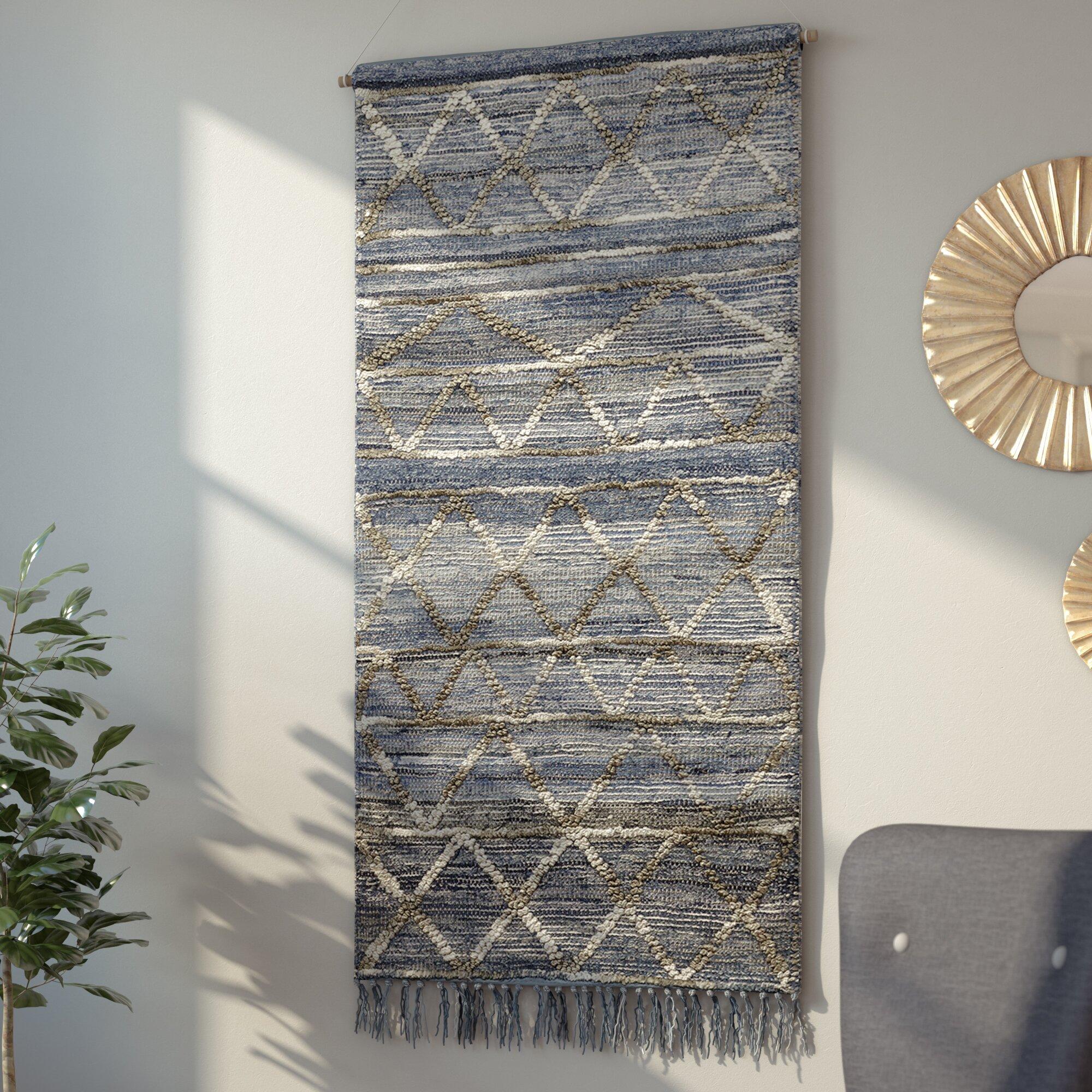 Langley Street Hand Woven Wall Hanging Amp Reviews Wayfair