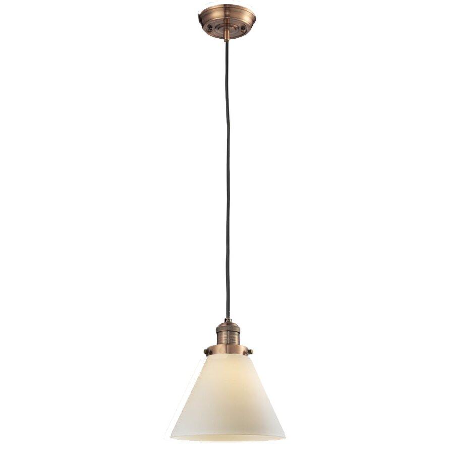 innovations lighting glass cone 1 light pendant reviews