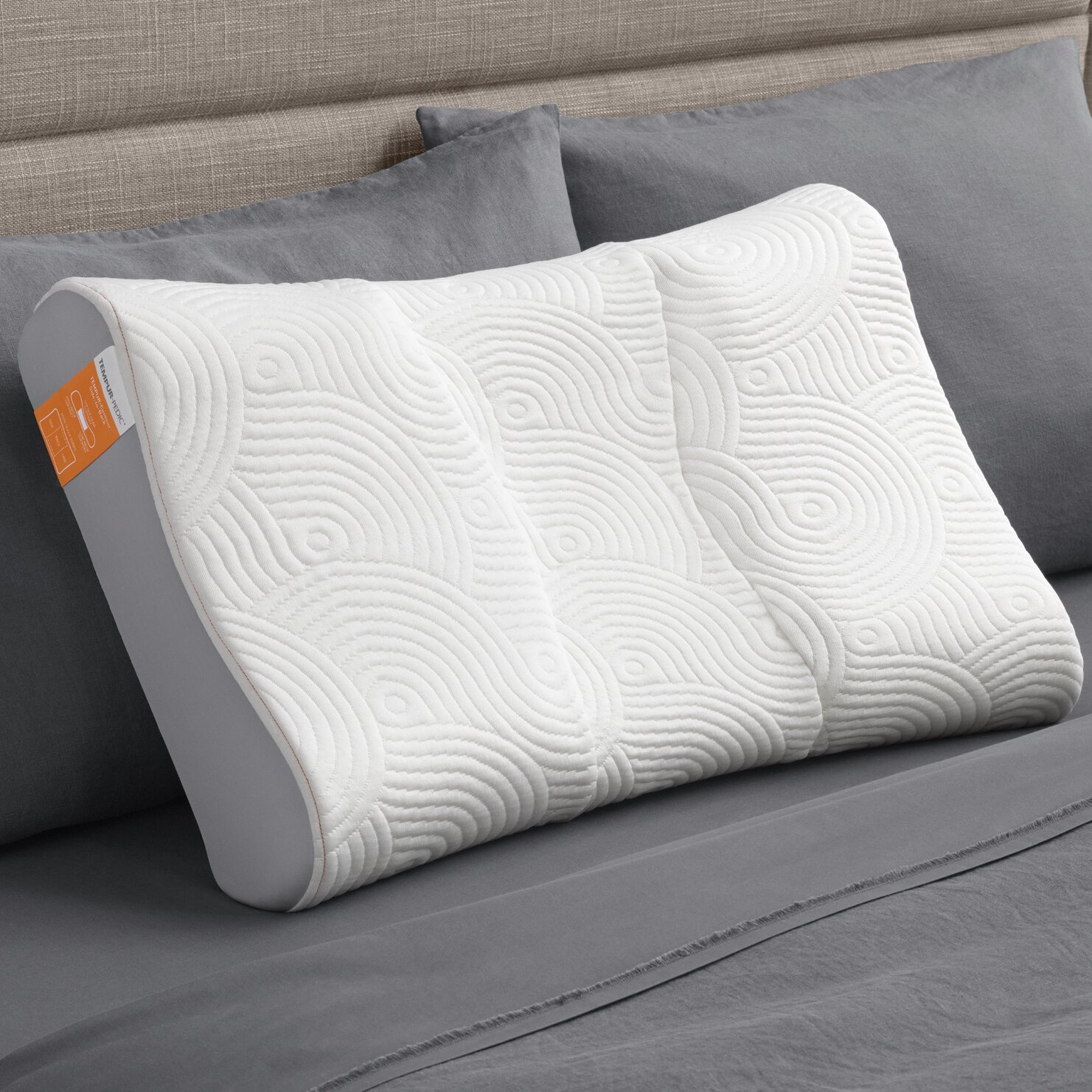 Tempur-Pedic Contour Side to Back Pillow & Reviews Wayfair