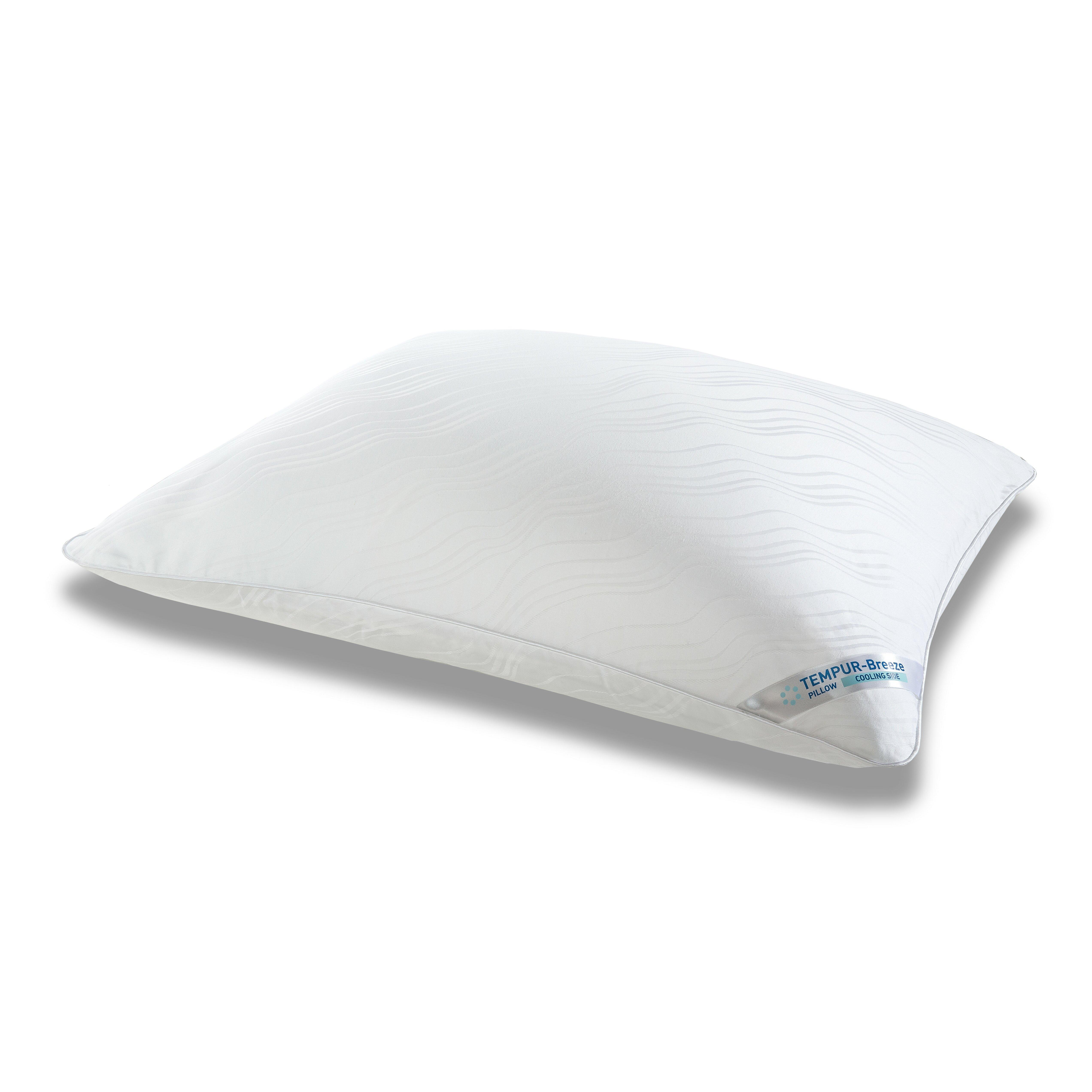 standard reversible sleep pillows soshichan cool memory and pedic gel of foam luxury ideas org modern pillow tempurpedic tempur