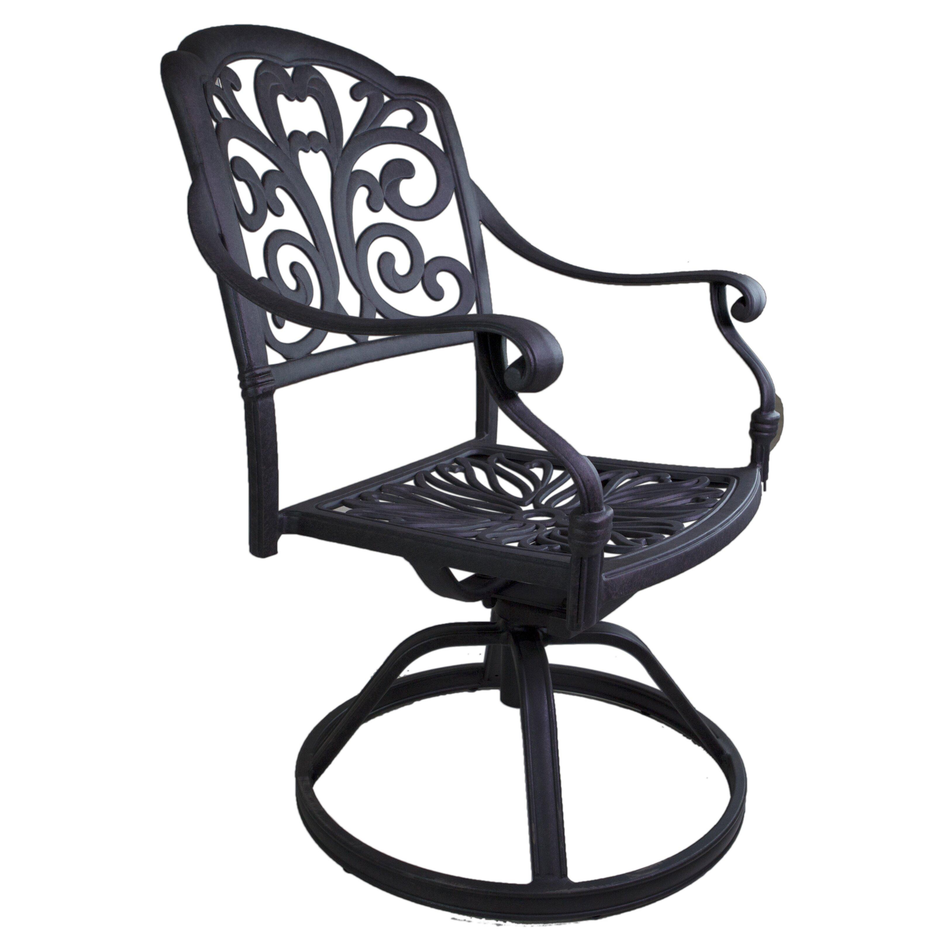 California Outdoor Designs Roma Swivel Rocking Chair Set