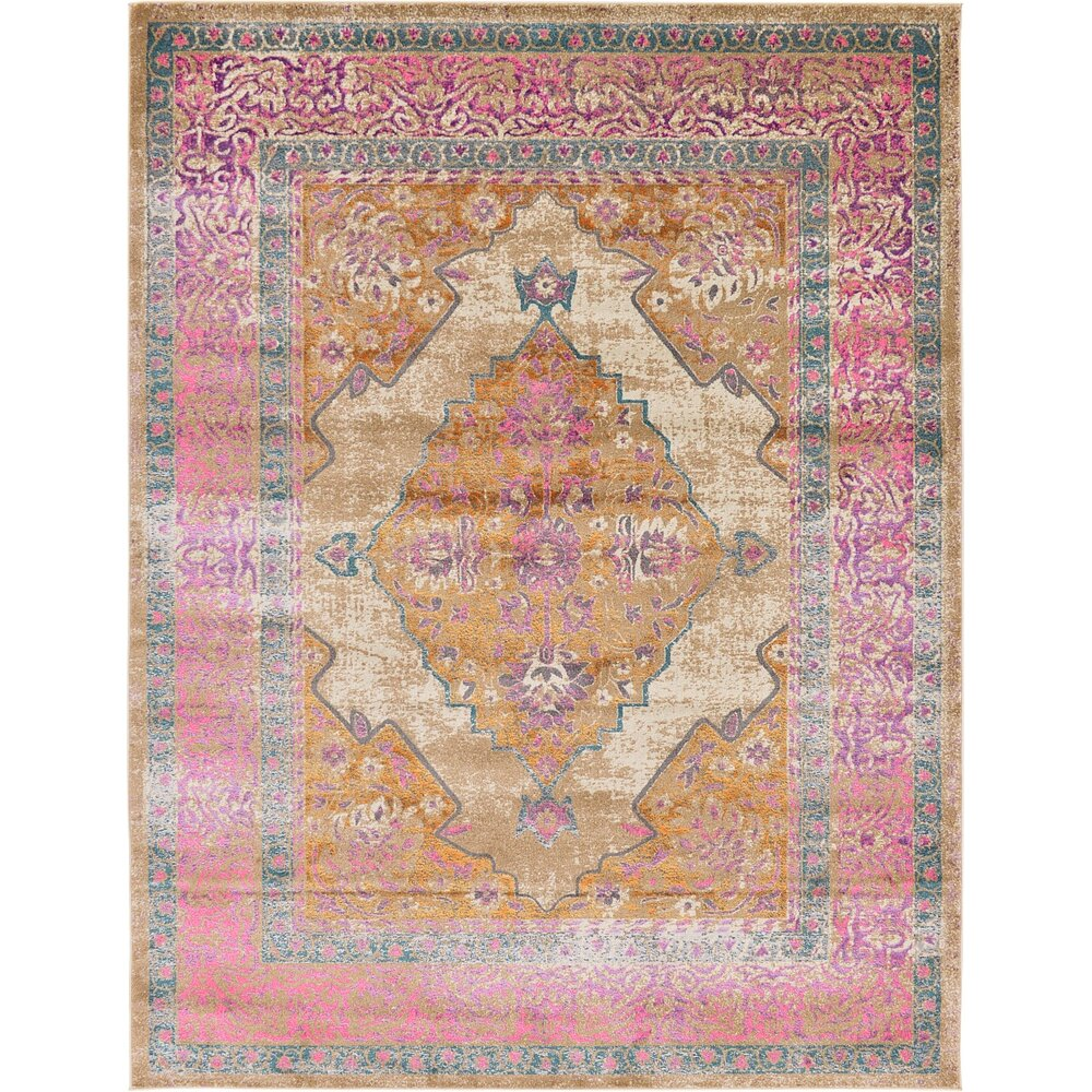 Bungalow Rose Klingle Beige Area Rug Amp Reviews Wayfair