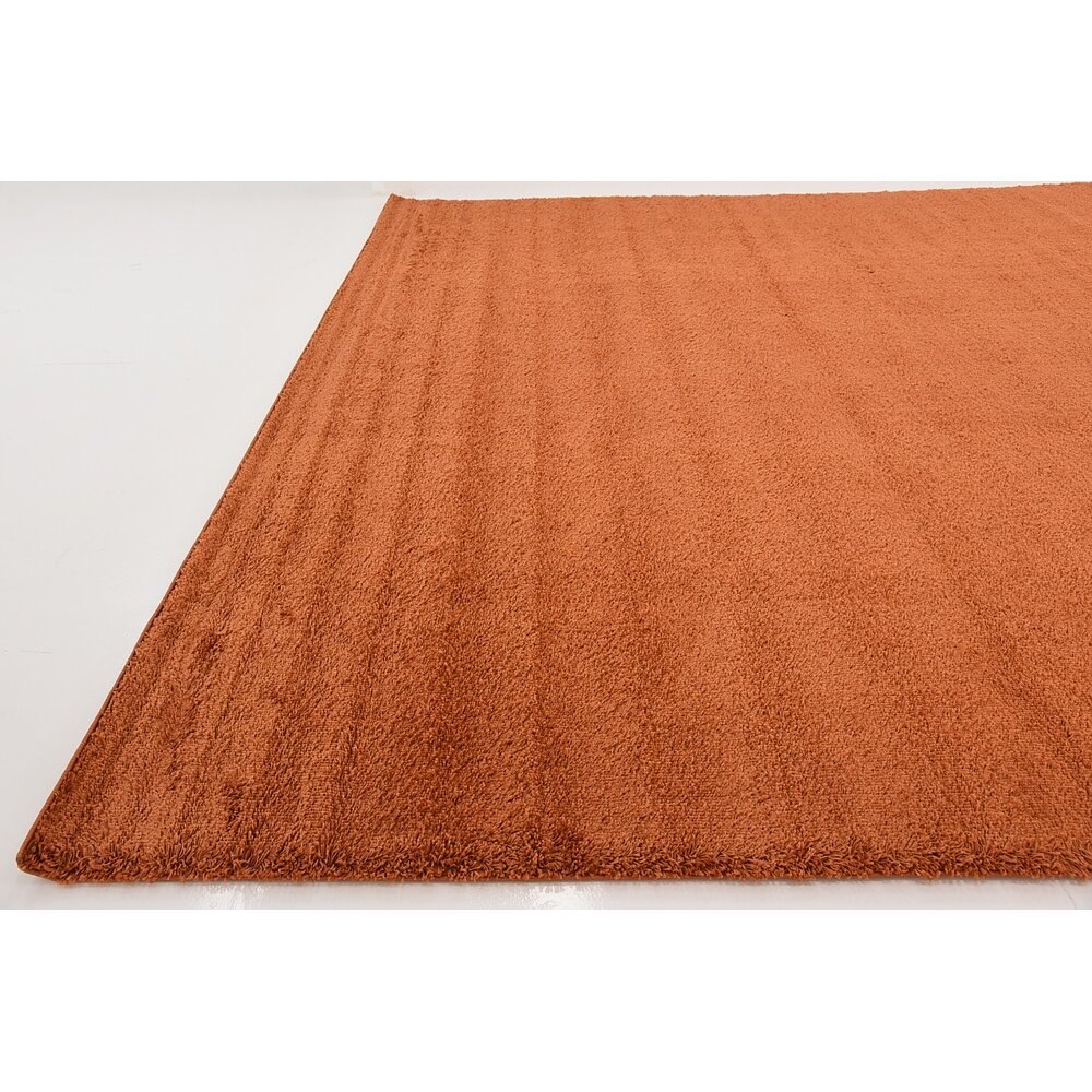 Unique Loom Solo Terracotta Area Rug Amp Reviews Wayfair