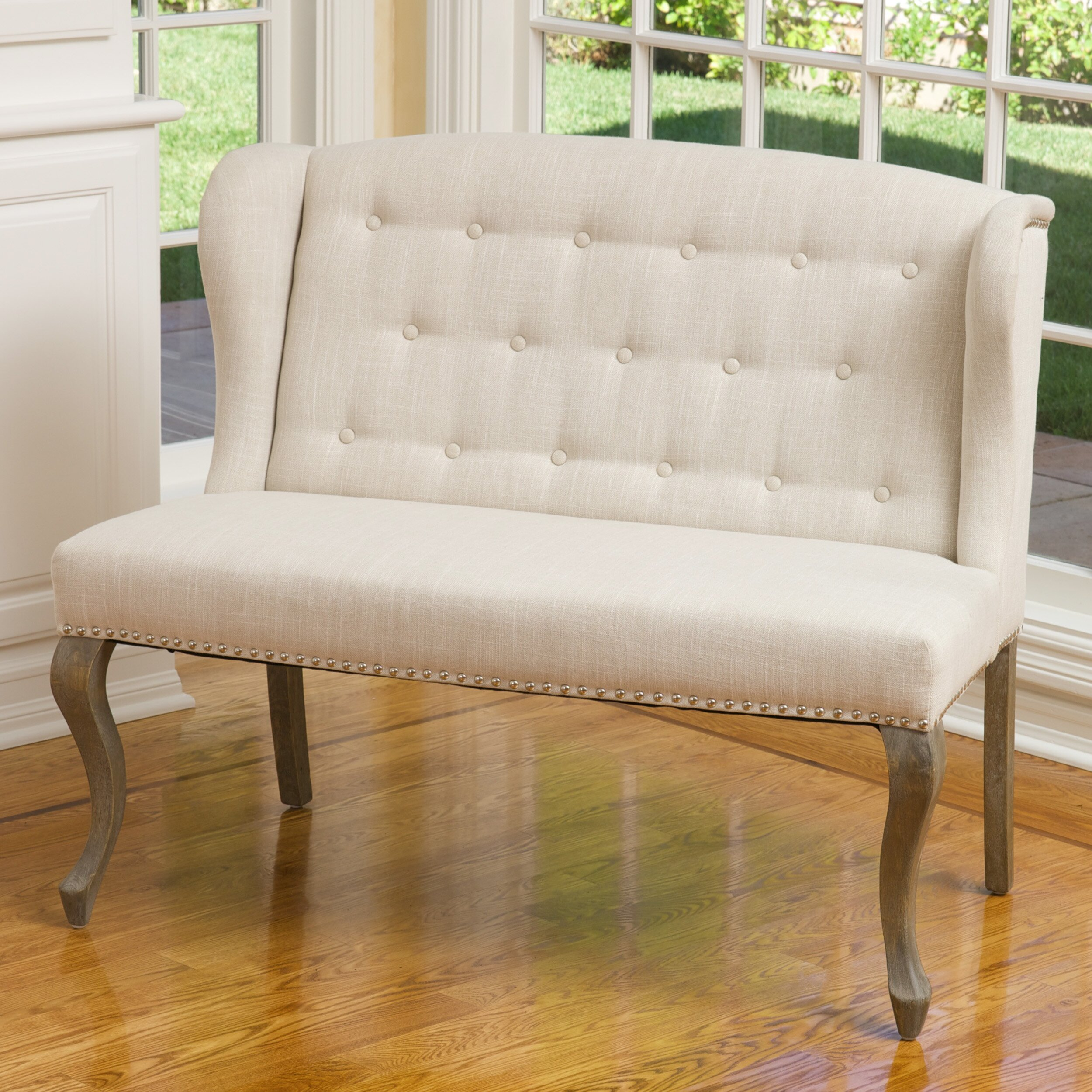 Lark Manor Guyette Upholstered Bedroom Bench Reviews Wayfair