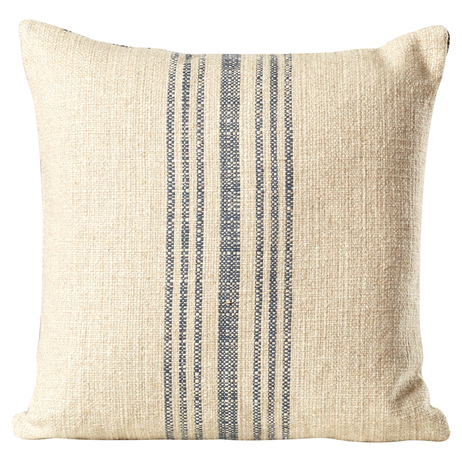 Decorative Pillows Linen : Lark Manor Stripe Linen Throw Pillow & Reviews Wayfair