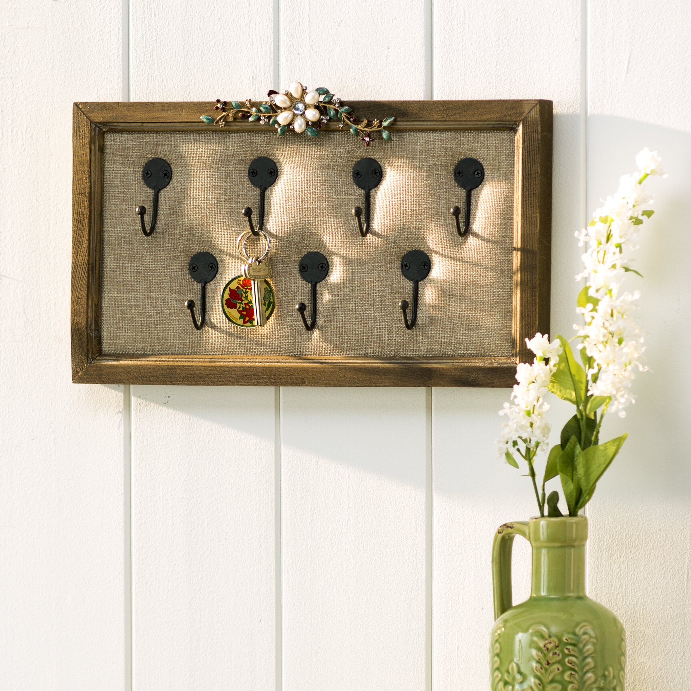 Lark Manor Bluebell Wall Mounted Jewelry Holder & Reviews ...