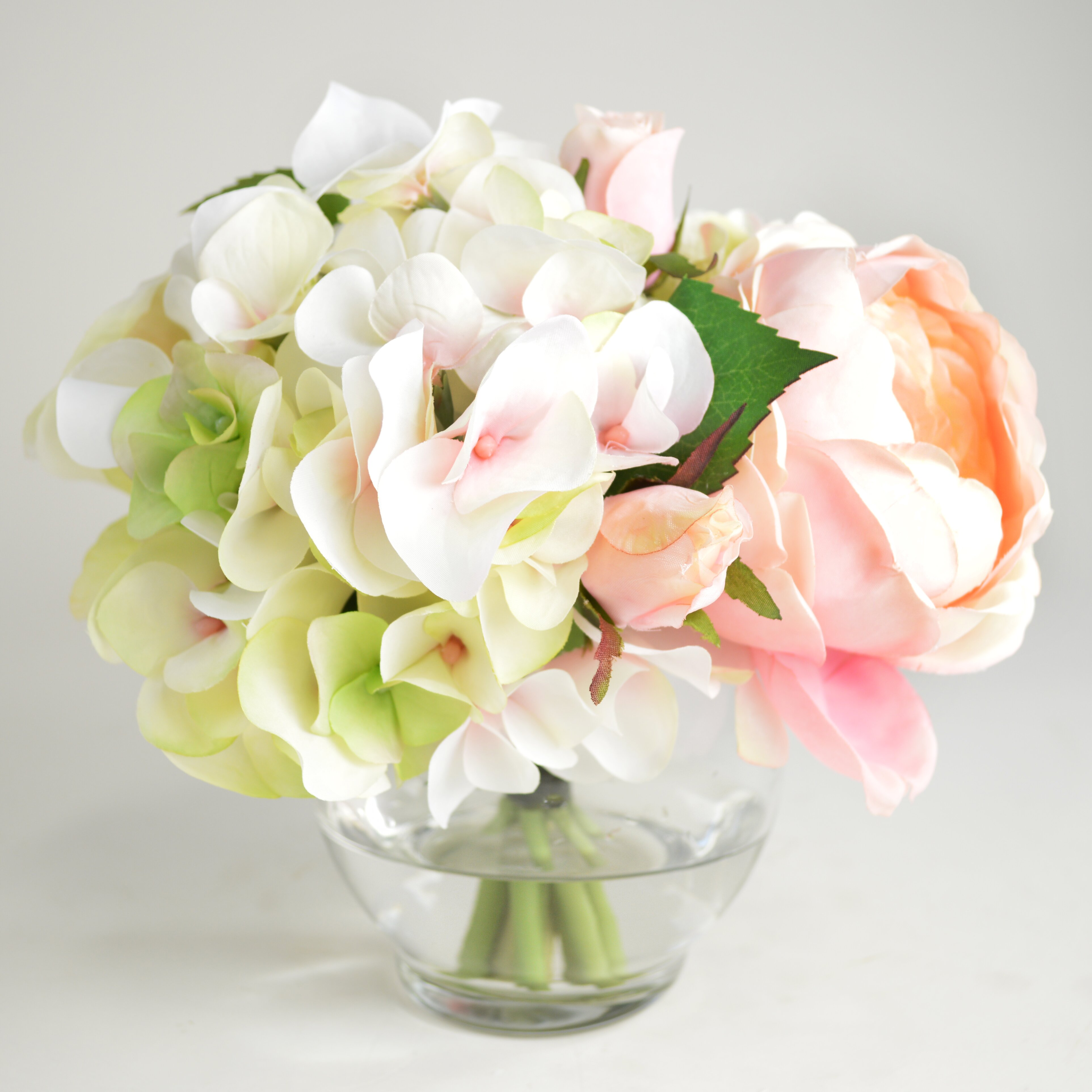 Lark manor roses and hydrangea bouquet reviews wayfair