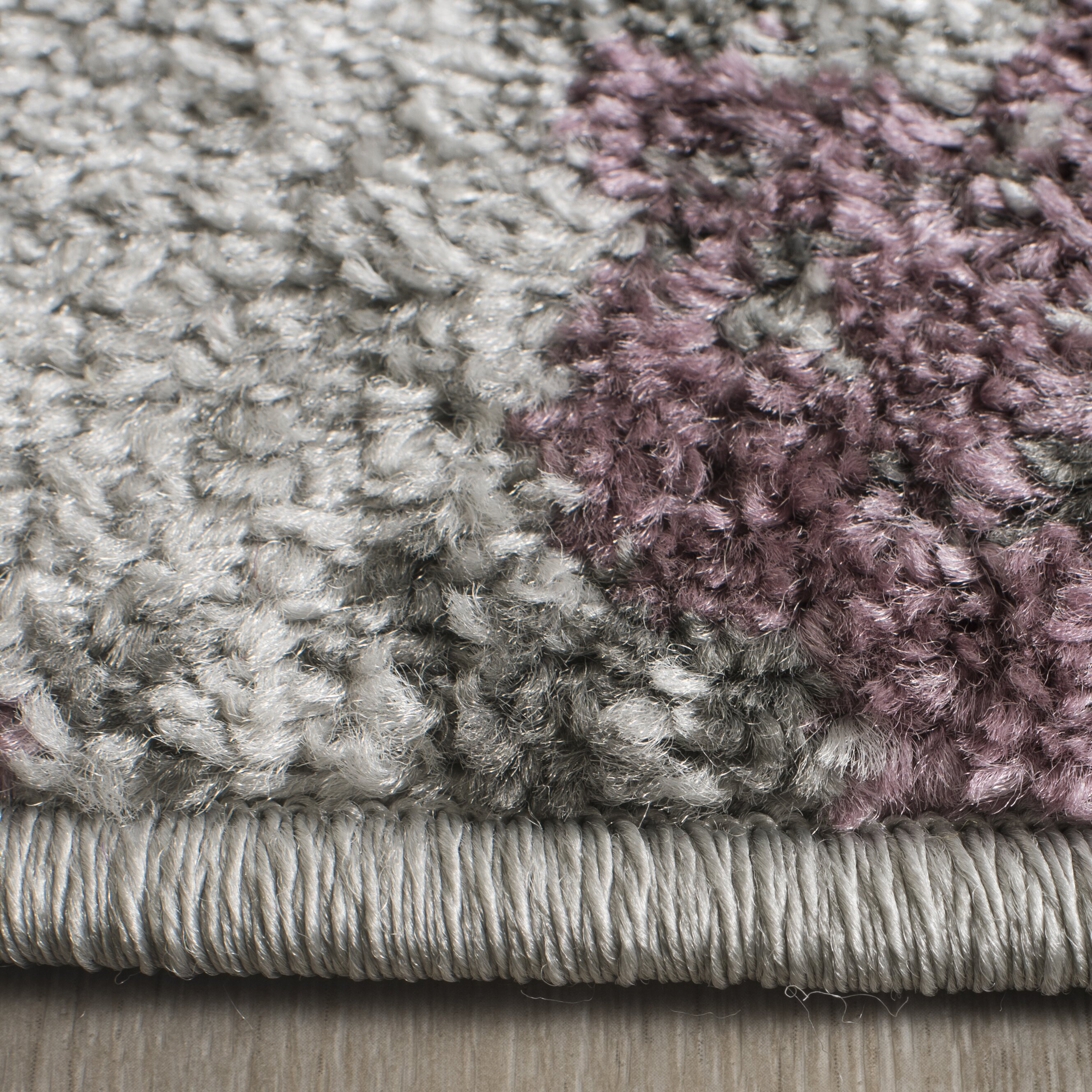 Xl Purple Rug: Lark Manor Ales Light Grey/Purple Area Rug & Reviews