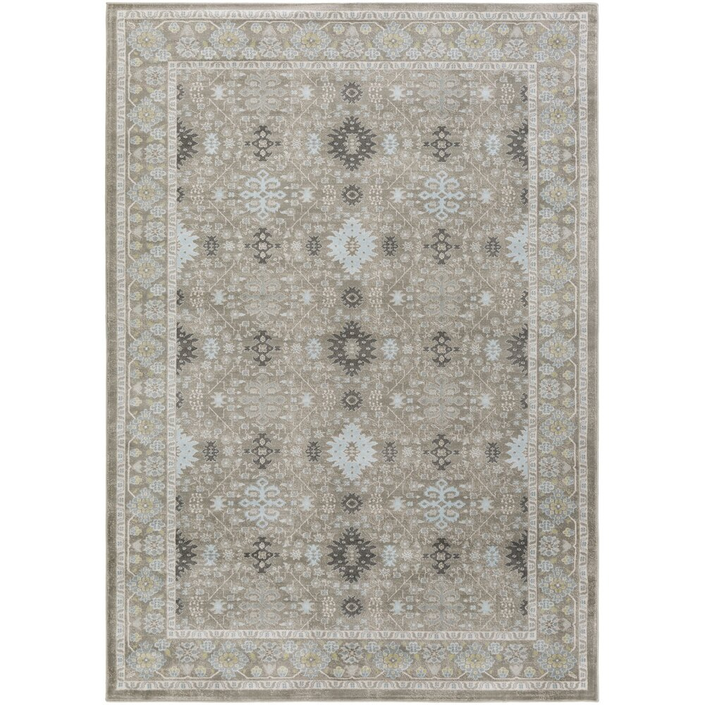 Lark Manor Riviere Gray/Green Area Rug