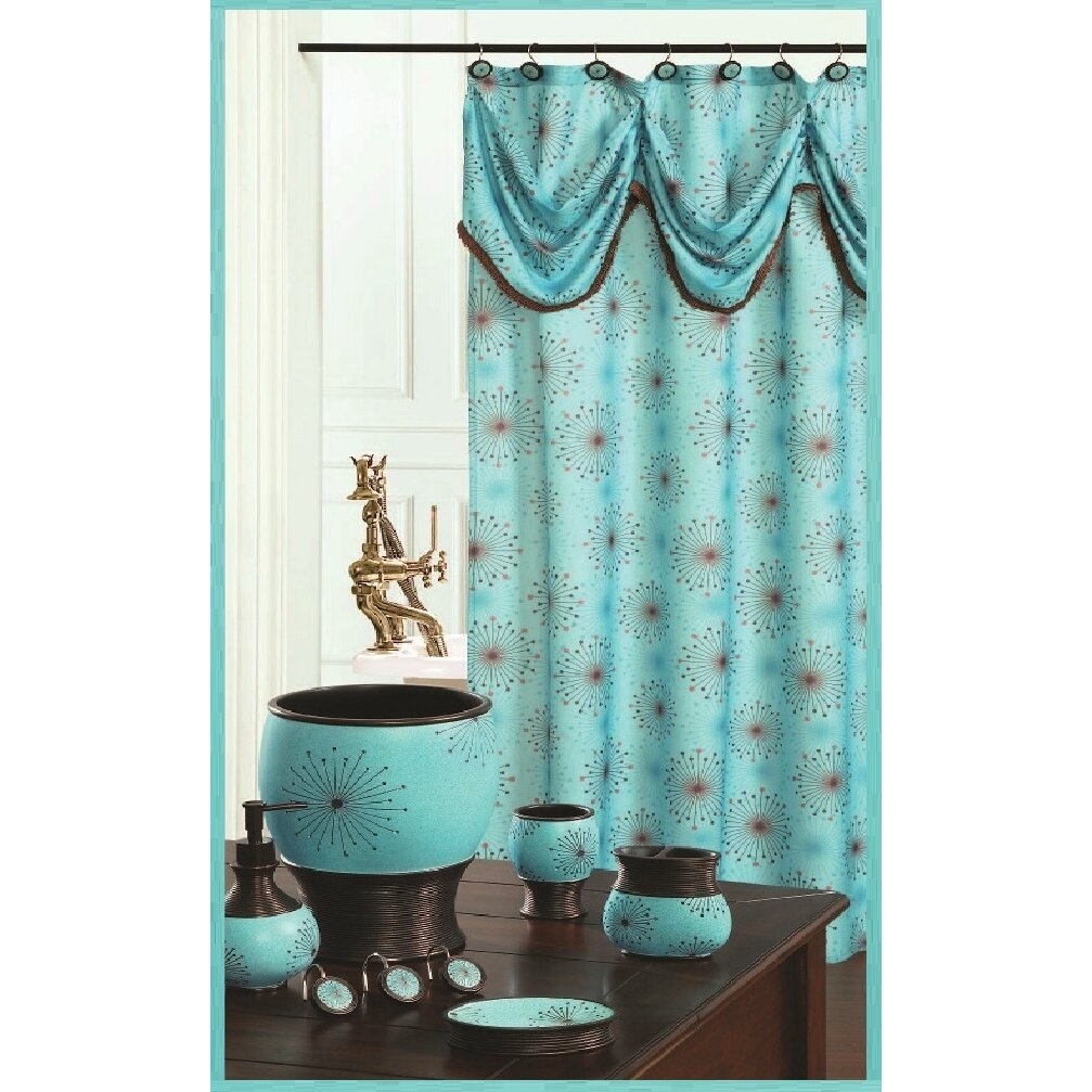 daniels bath dante decorative shower curtain reviews wayfair
