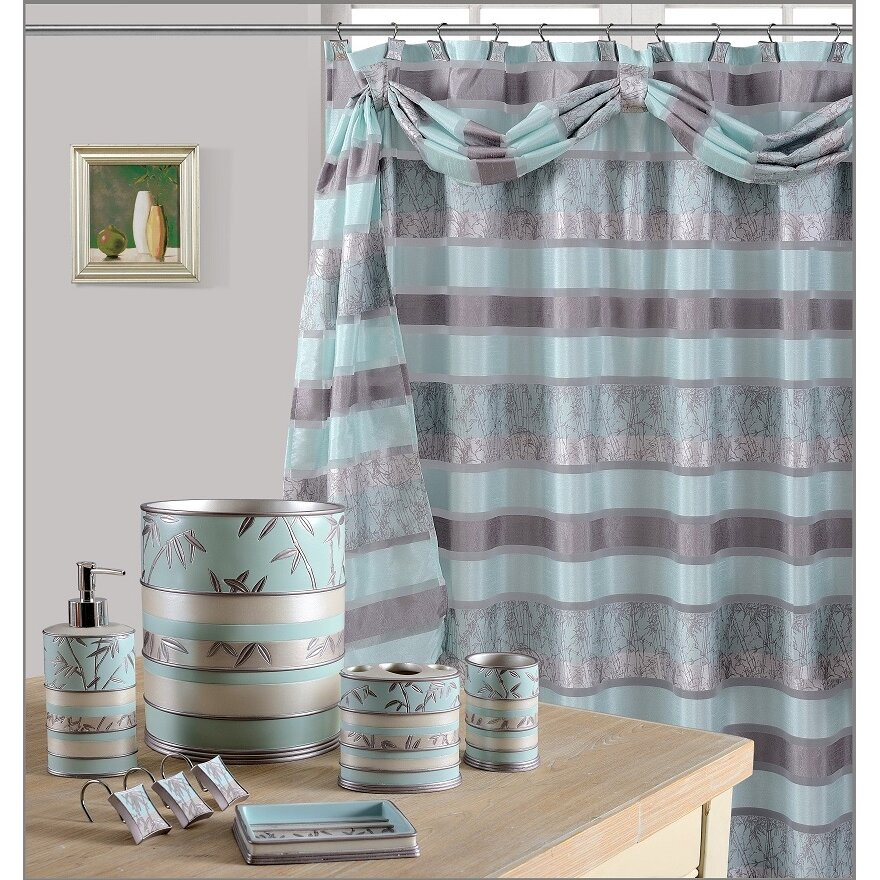Daniels Bath Venezia Decorative Shower Curtain Reviews Wayfair