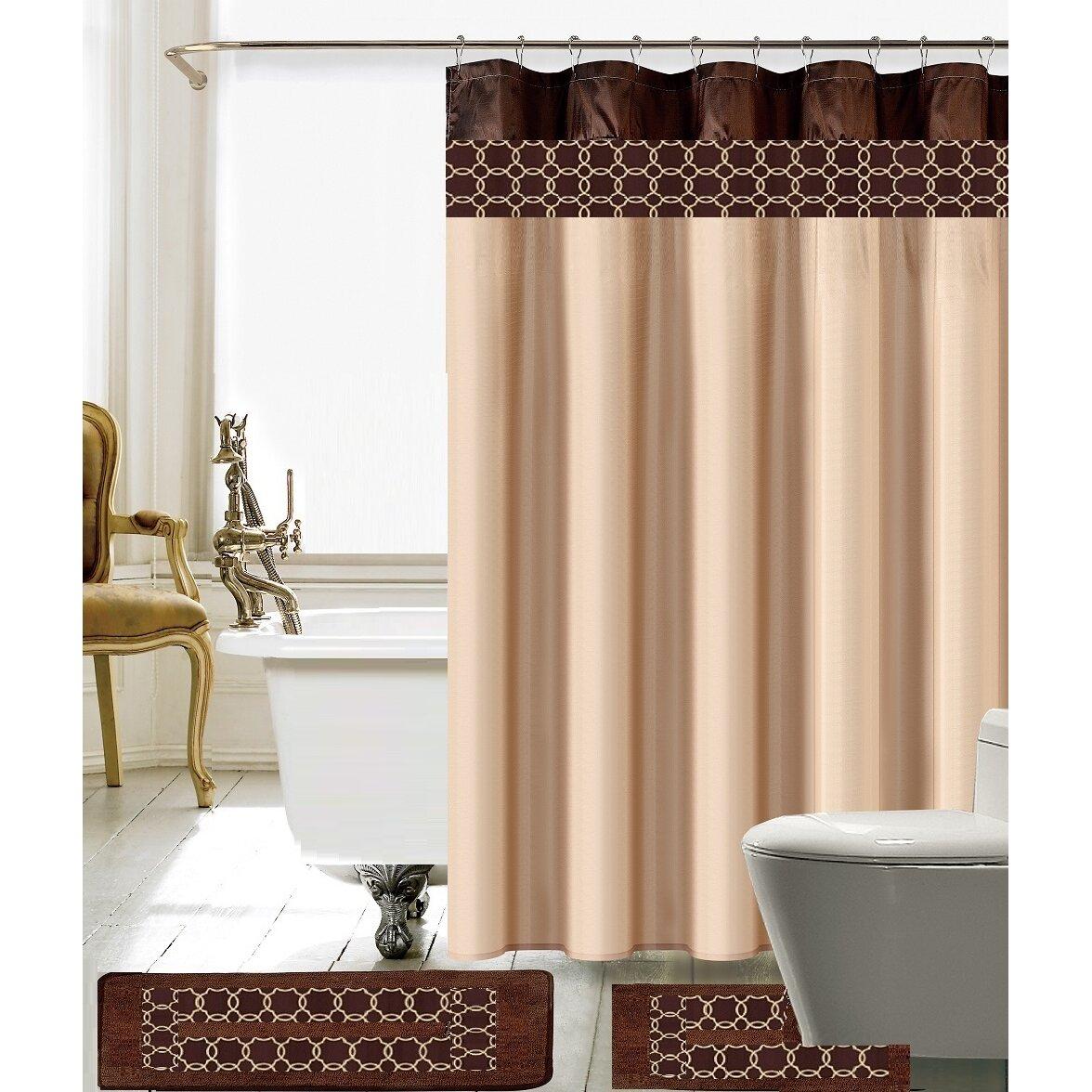 Daniels Bath Charlton Shower Curtain Set Reviews