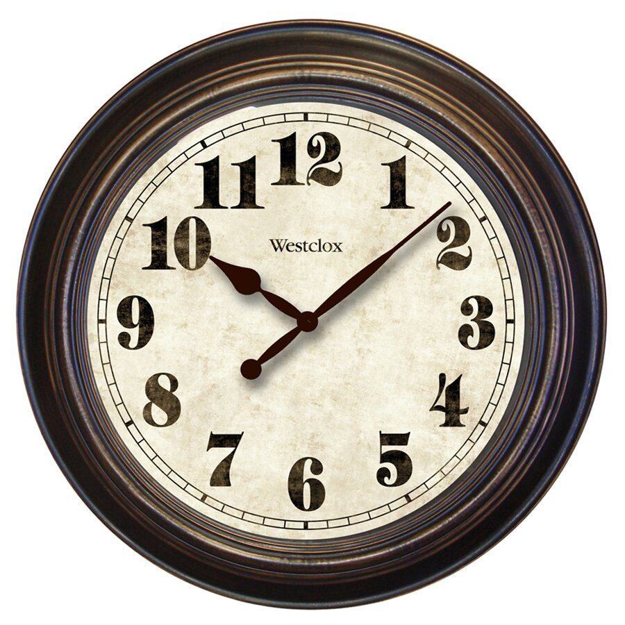 Westclox Oversized 24 Wall Clock Reviews Wayfair