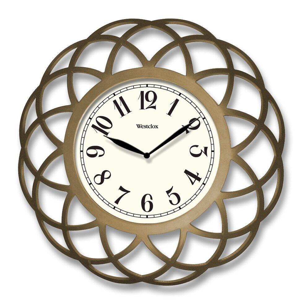 Westclox 14 Quot Wall Clock Amp Reviews Wayfair