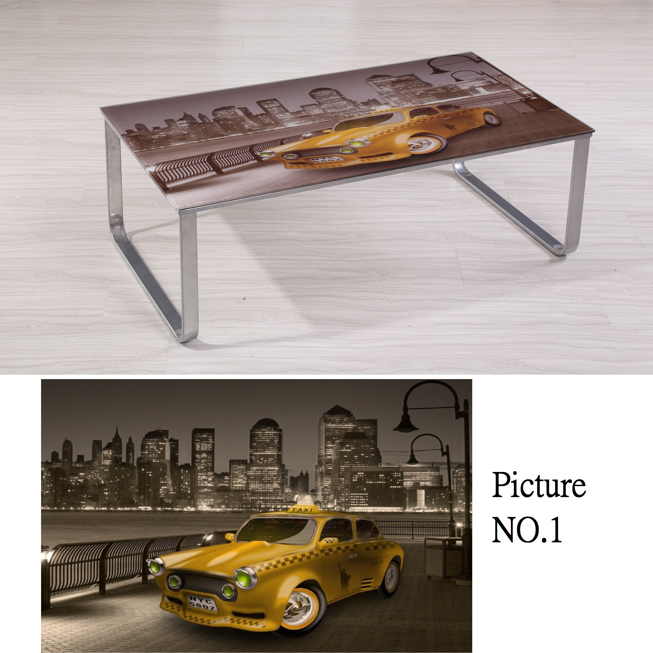 Container Scene Decor Coffee Table & Reviews