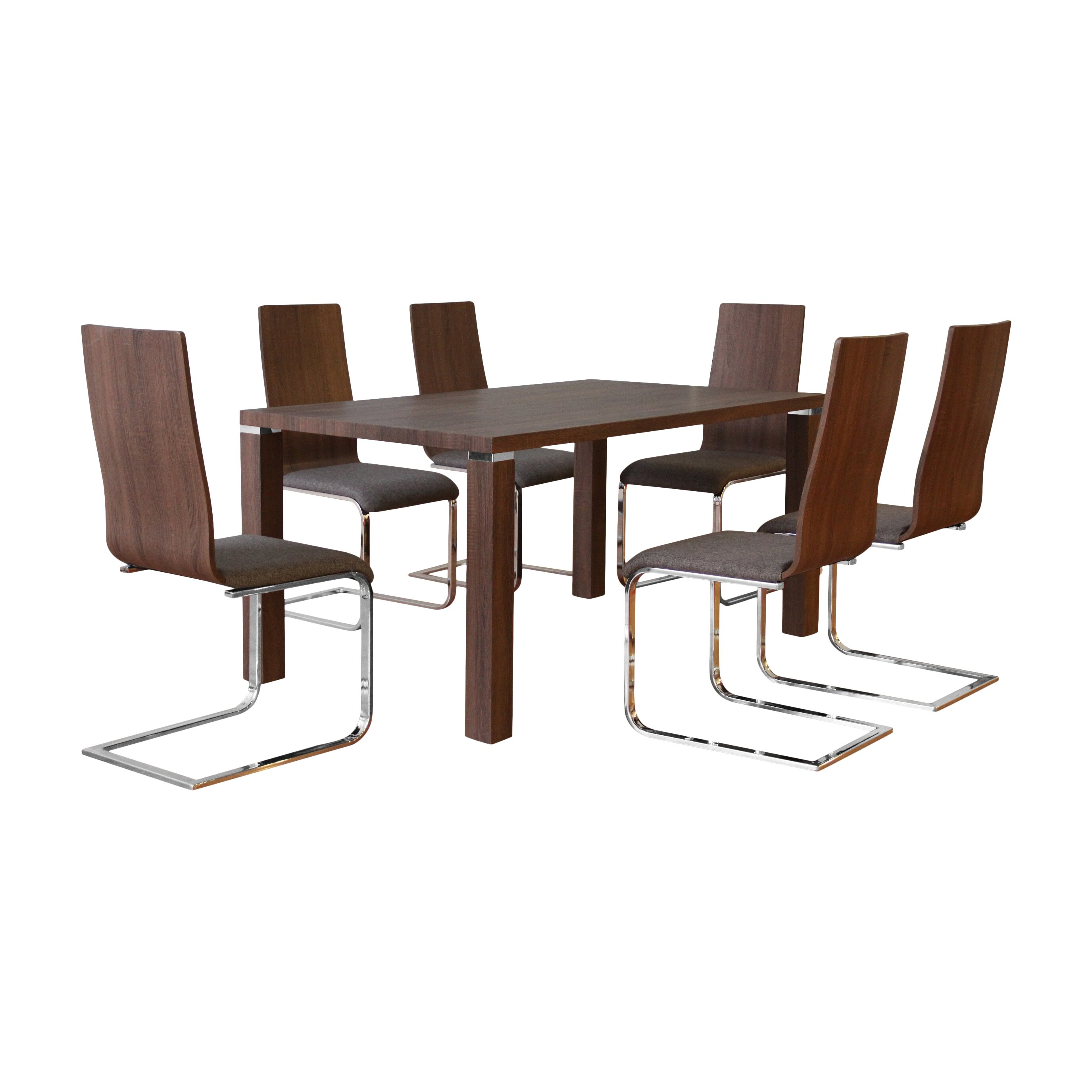 Container tilly 7 piece dining set reviews wayfair for 7 piece dining set
