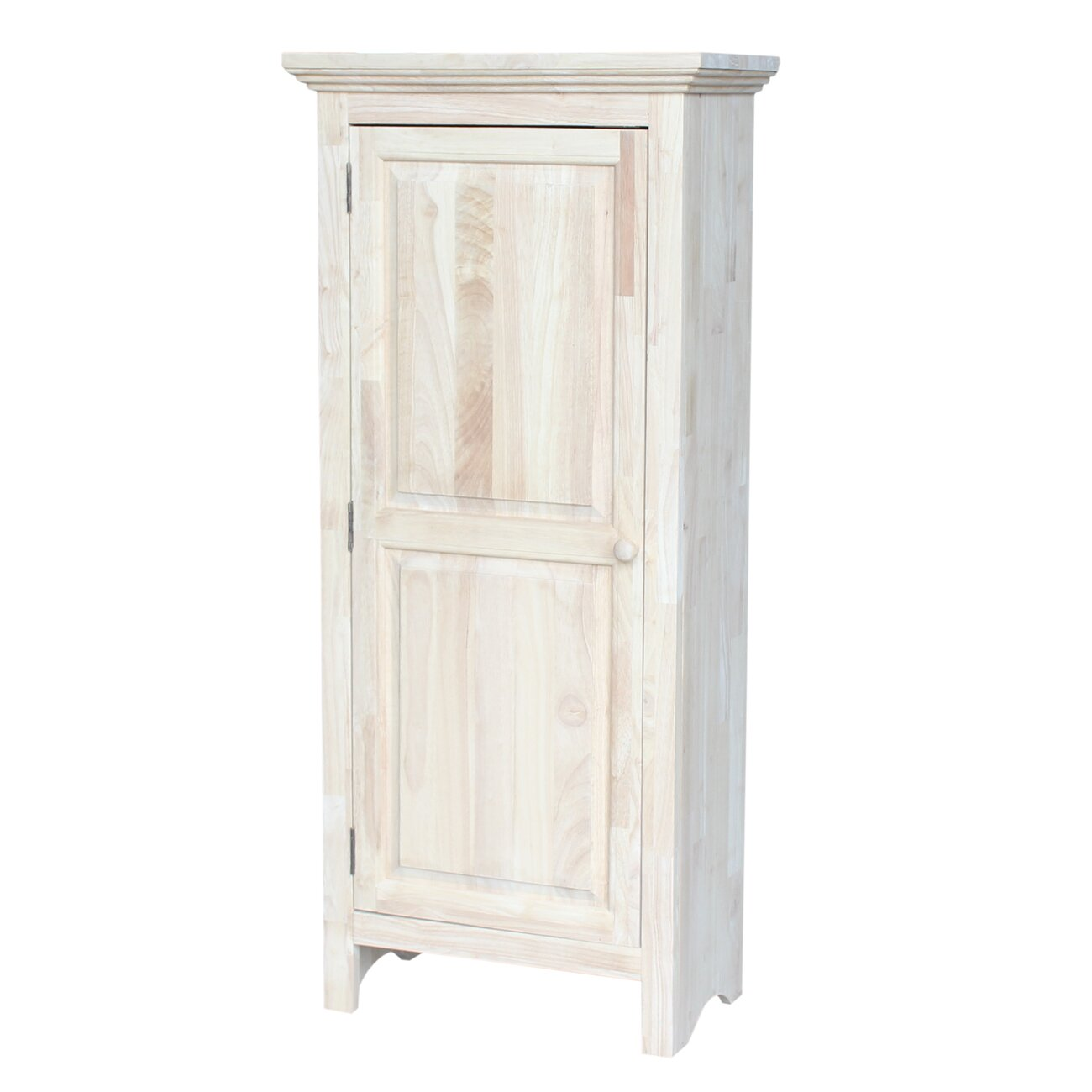 International Concepts Single Door Jelly Cabinet With 2