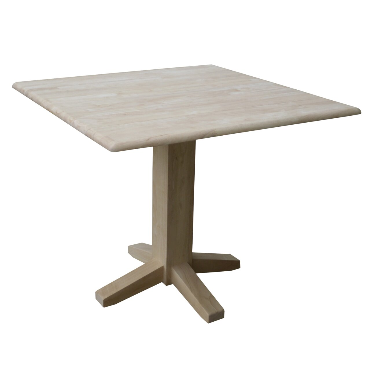 International concepts pedestal dining table reviews for Wayfair dining tables