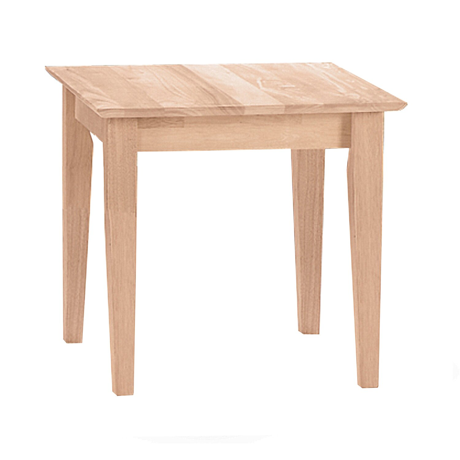 International Concepts Unfinished Wood End Table Reviews