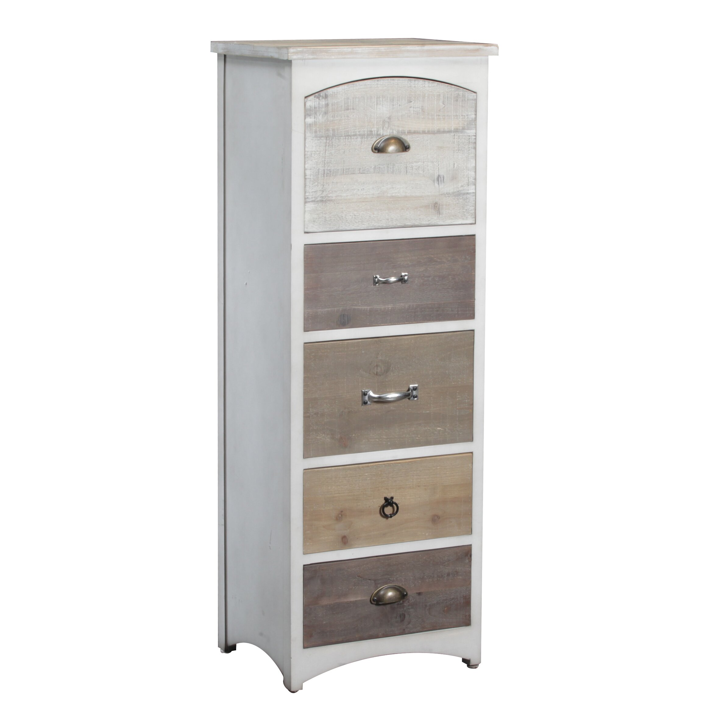 Andover Mills Brighton Tall 5 Drawer Lingerie Chest