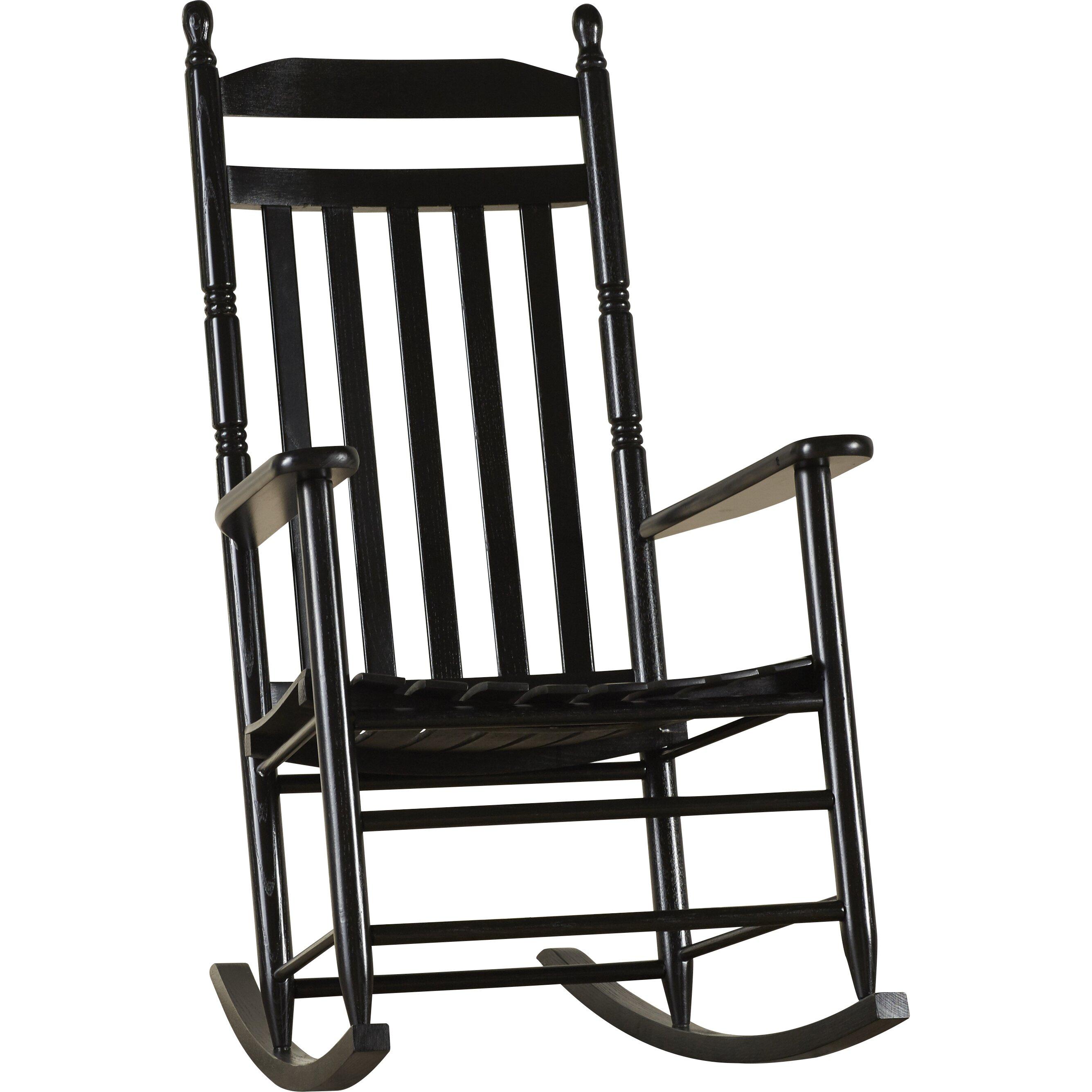 August Grove Janelle Asheville Rocking Chair & Reviews  Wayfair