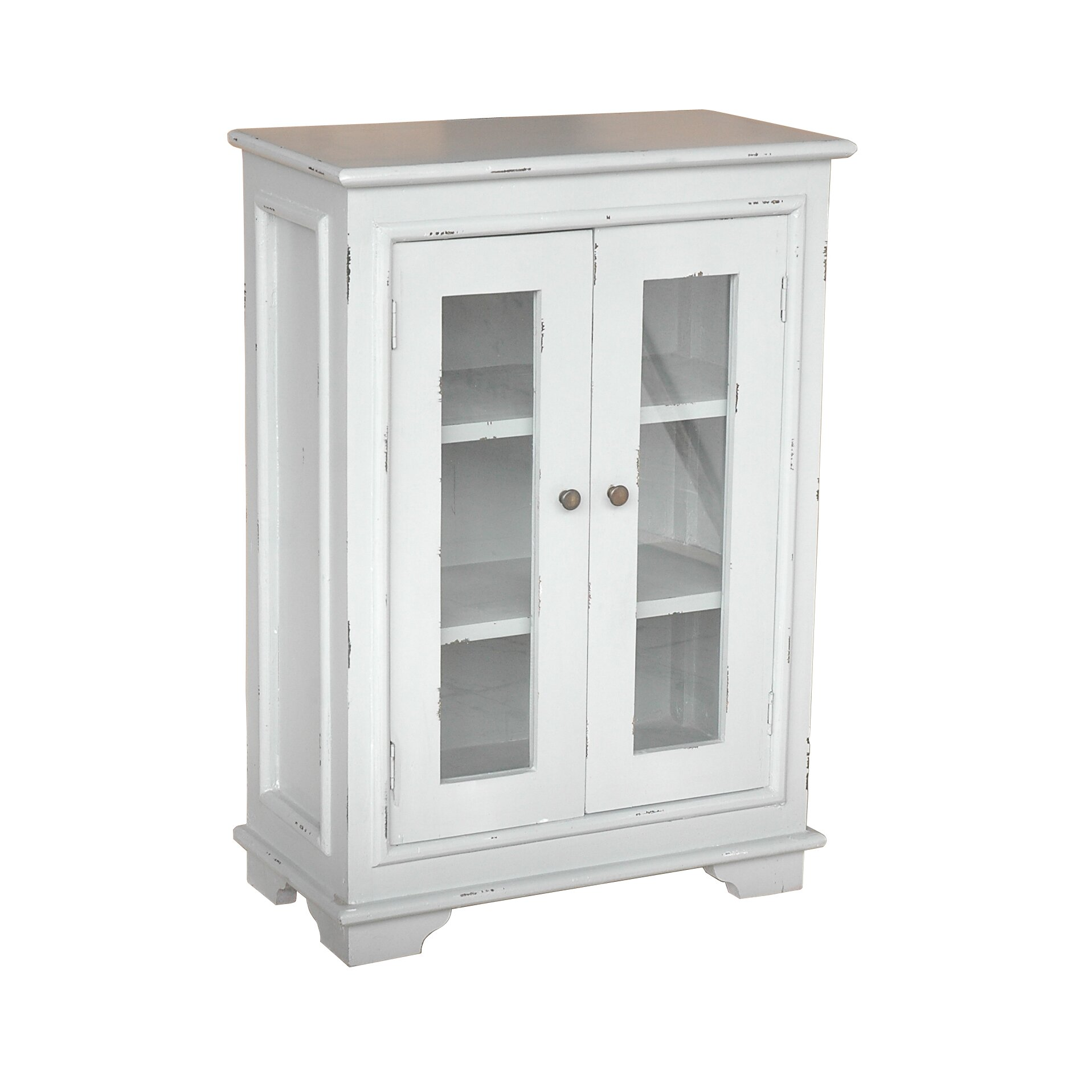 Small Glass Front Cabinet