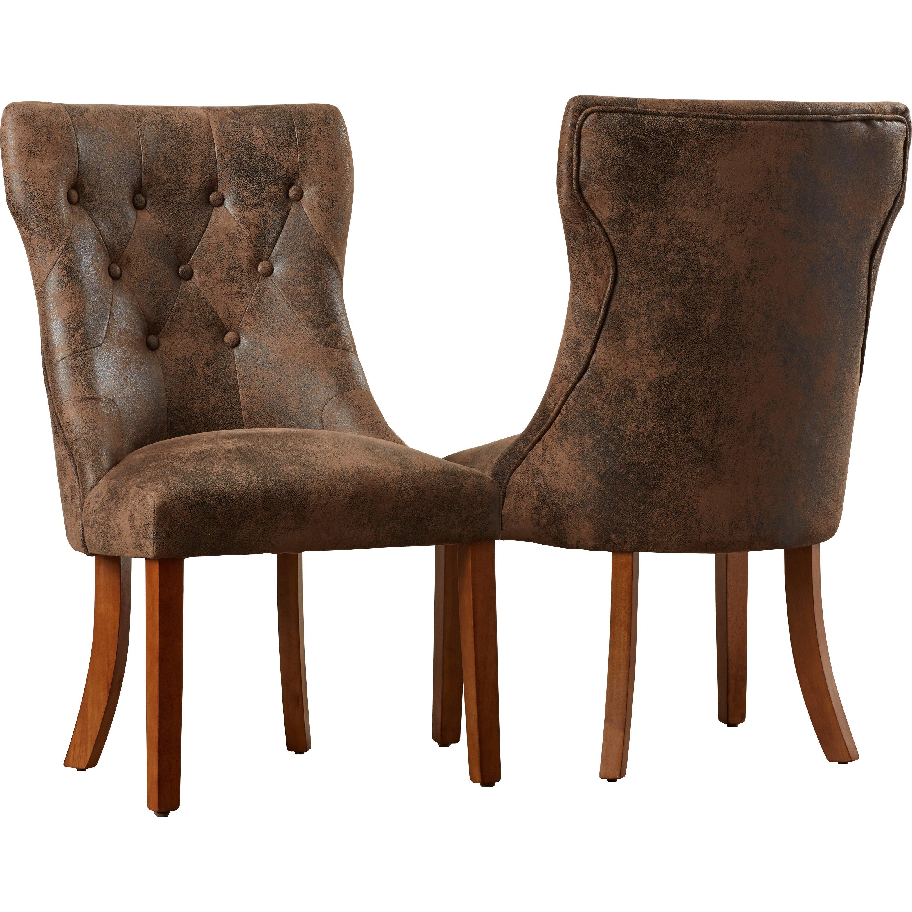 Lanesboro 7 Piece Extendable Dining Set: August Grove Elton Side Chair & Reviews
