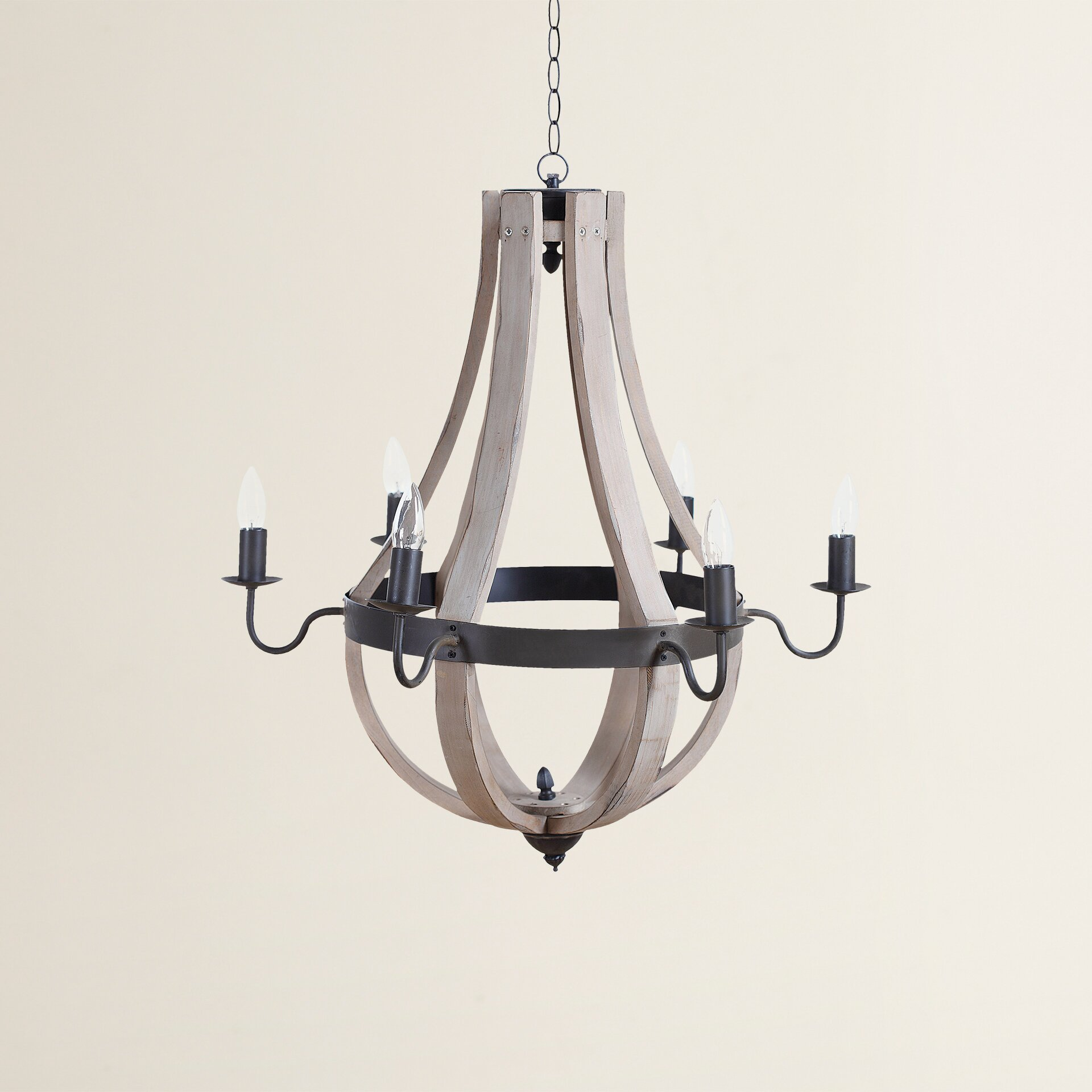 Wayfair Chandelier: August Grove Calhoun 6 Light Chandelier & Reviews