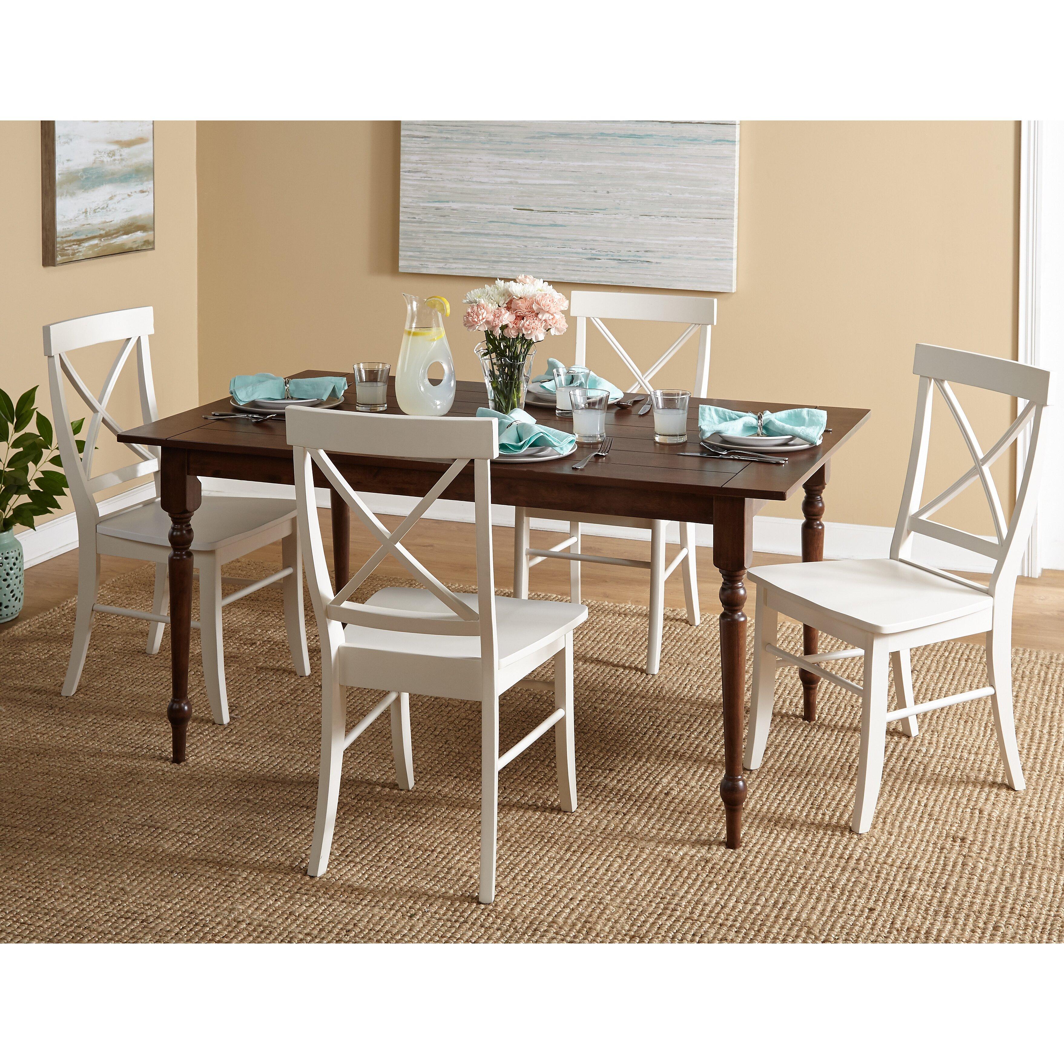 5 Piece Dining Room Sets Amazon Com: August Grove Deville 5 Piece Dining Set