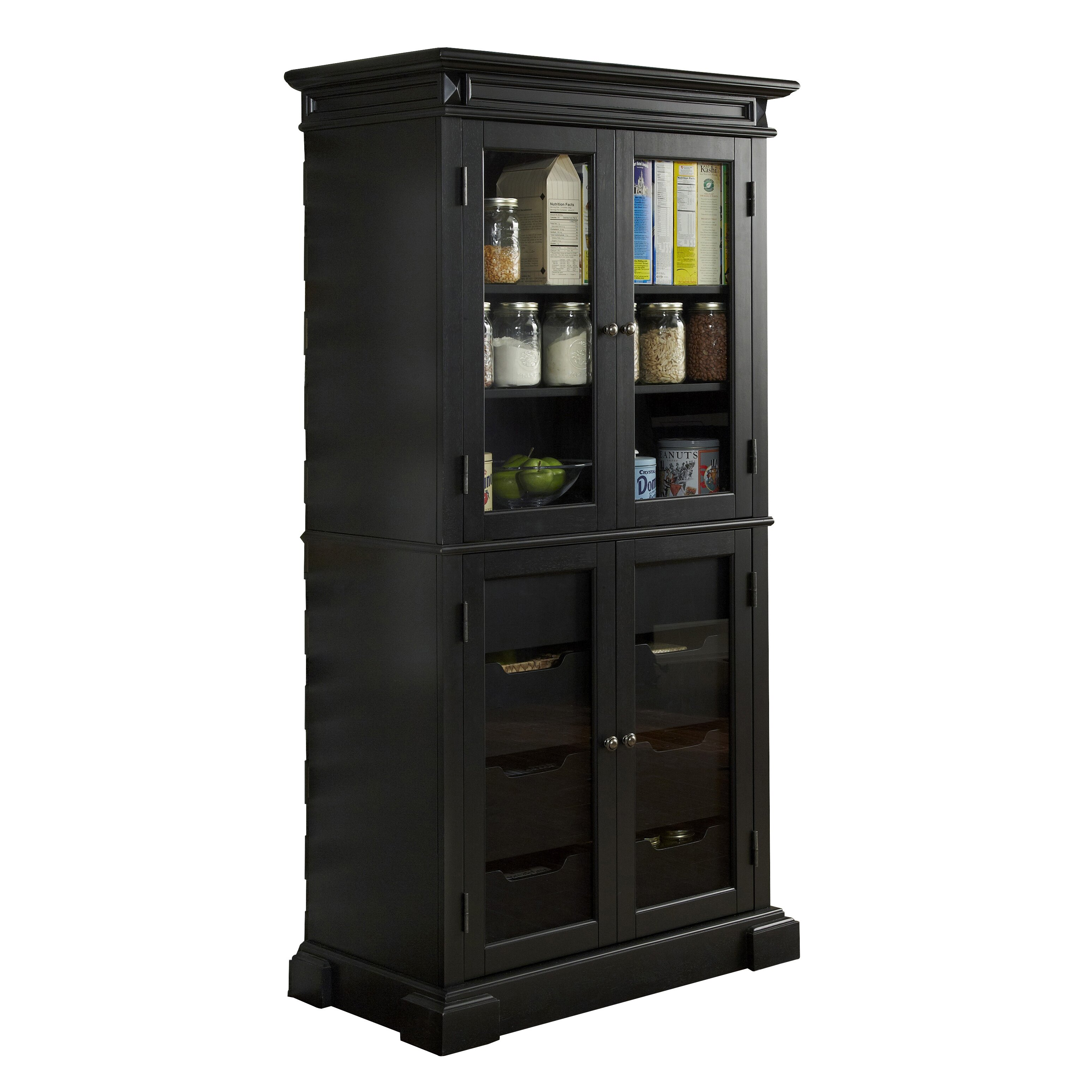 August Grove Collette Kitchen Pantry Reviews Wayfair