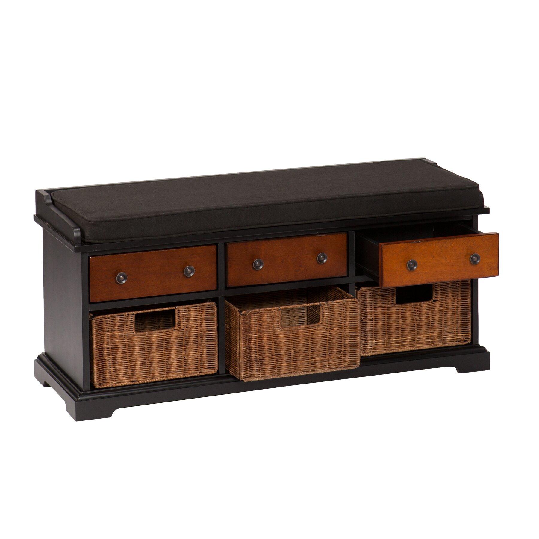One Allium Way Mattheo Storage Bench & Reviews