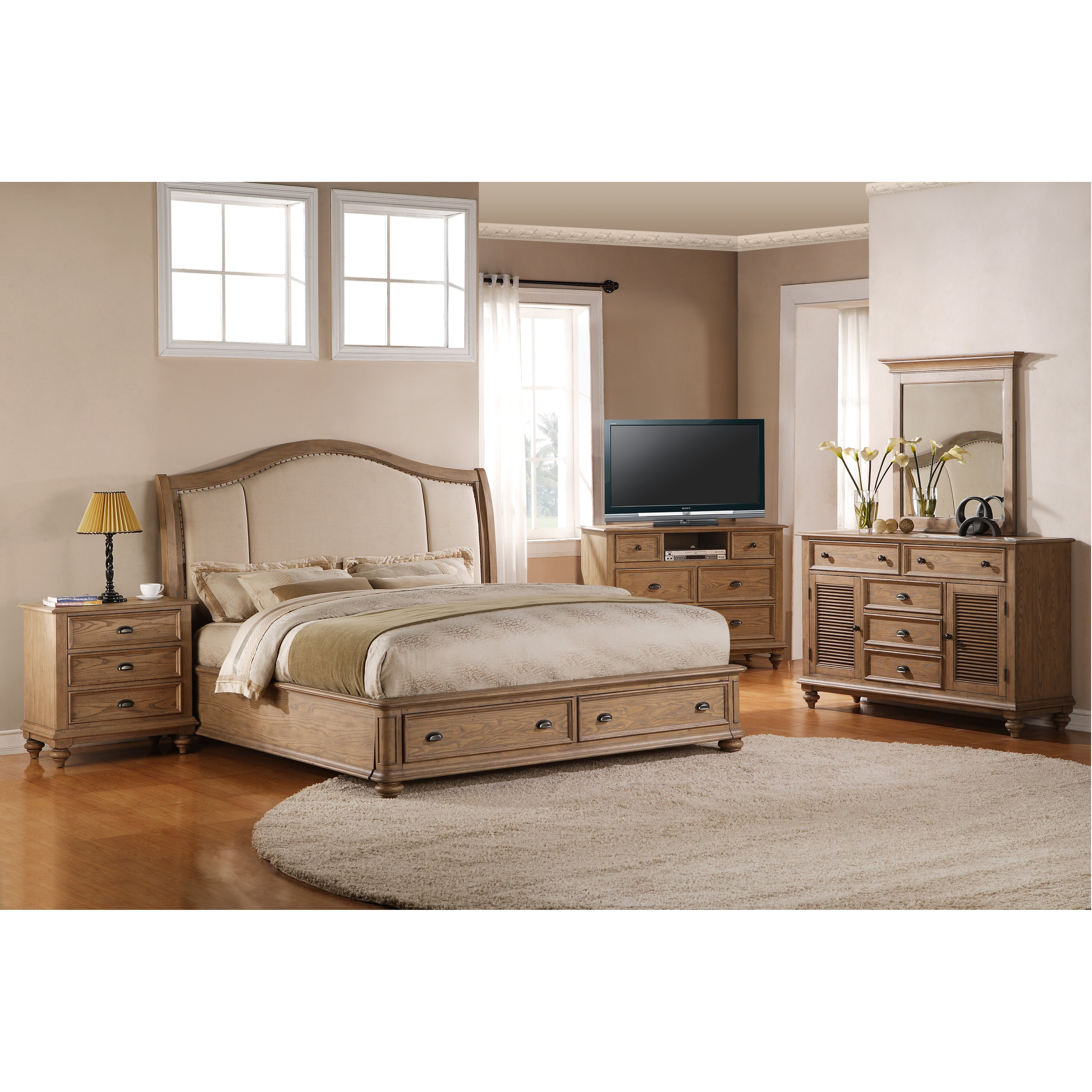 One Allium Way Coolidge Panel Customizable Bedroom Set