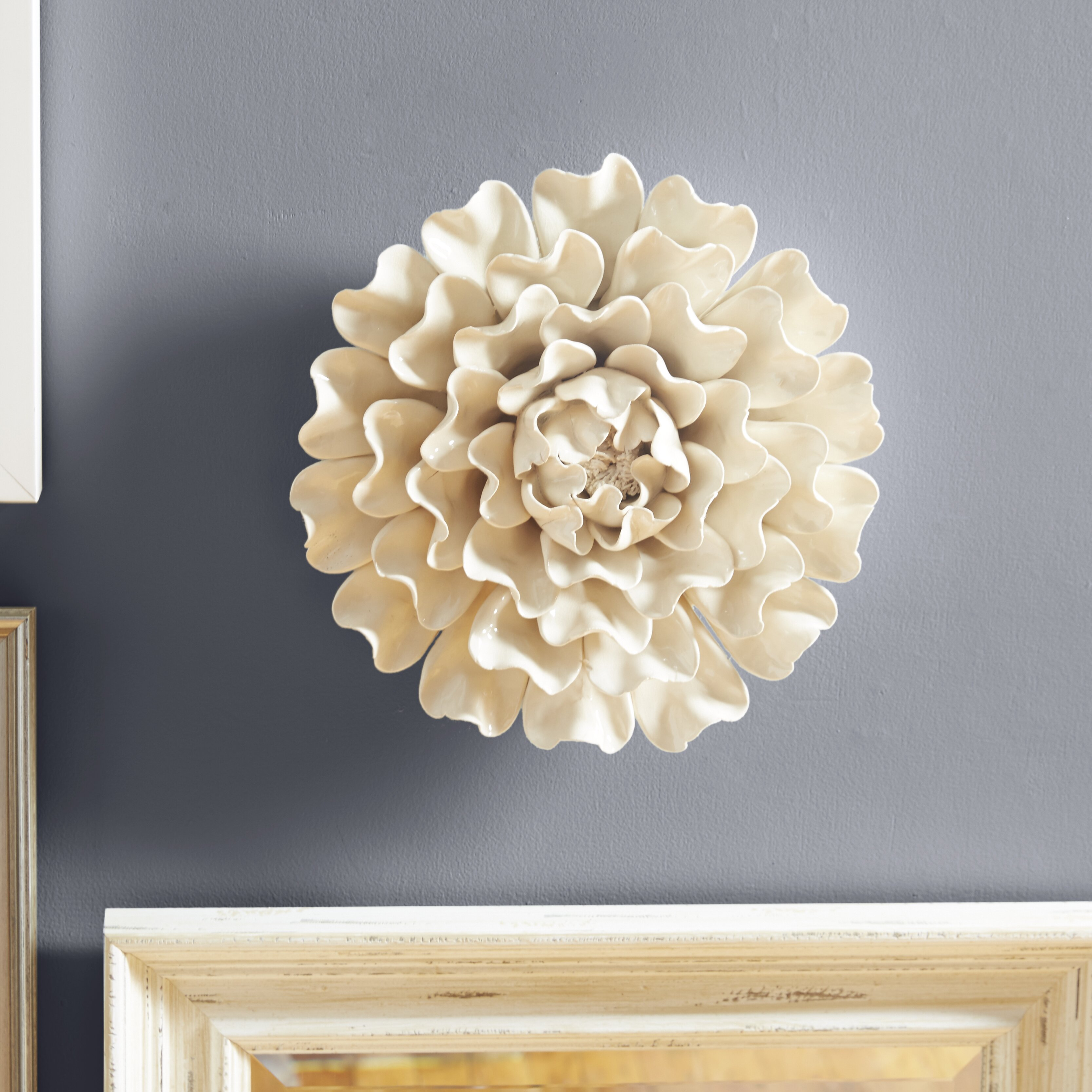 Large Flower Wall Sconces : One Allium Way Large 13