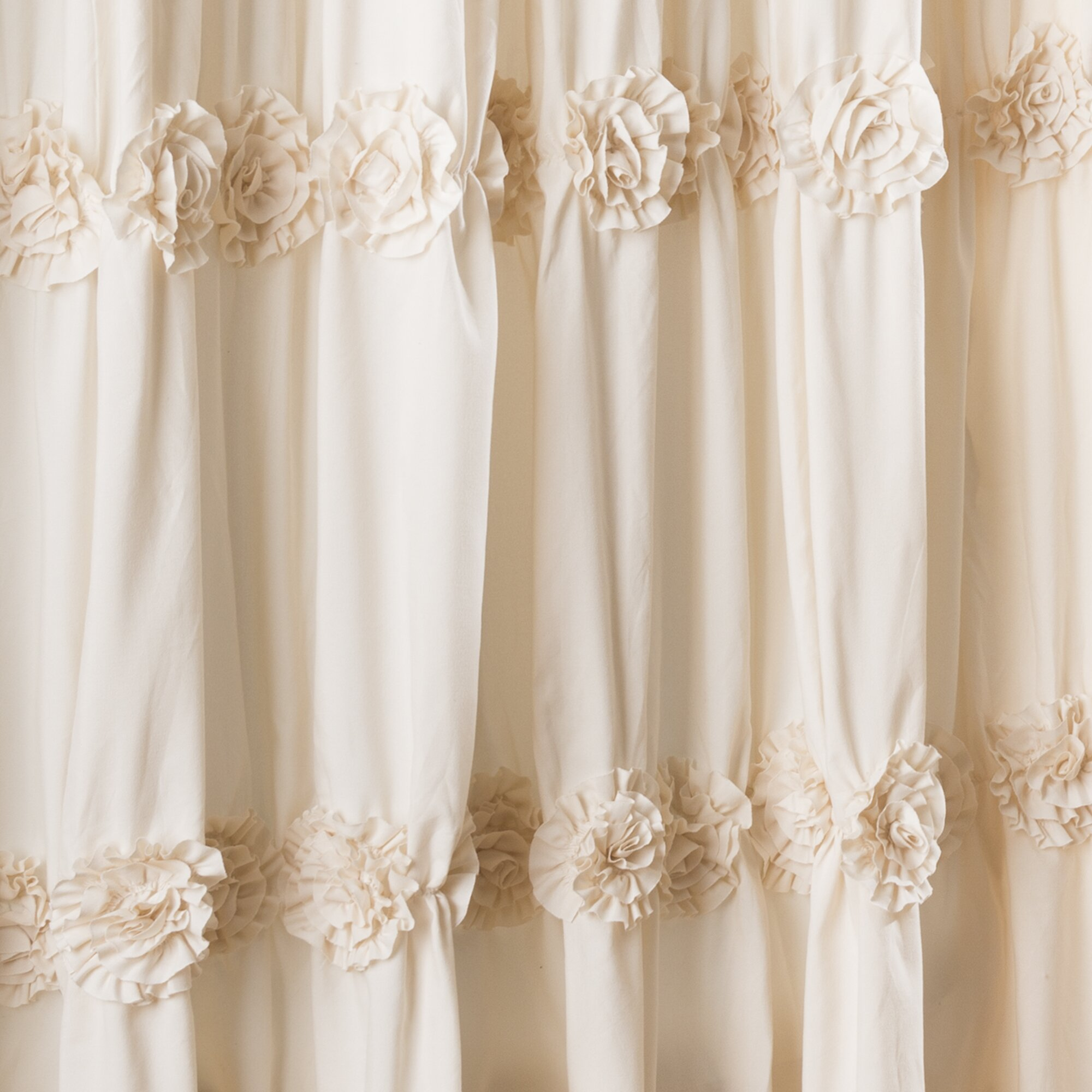 One Allium Way Victoria Lily Shower Curtain Amp Reviews