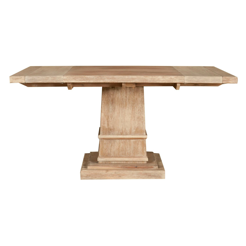 One allium way belleterre extendable dining table in stone for Stone dining table