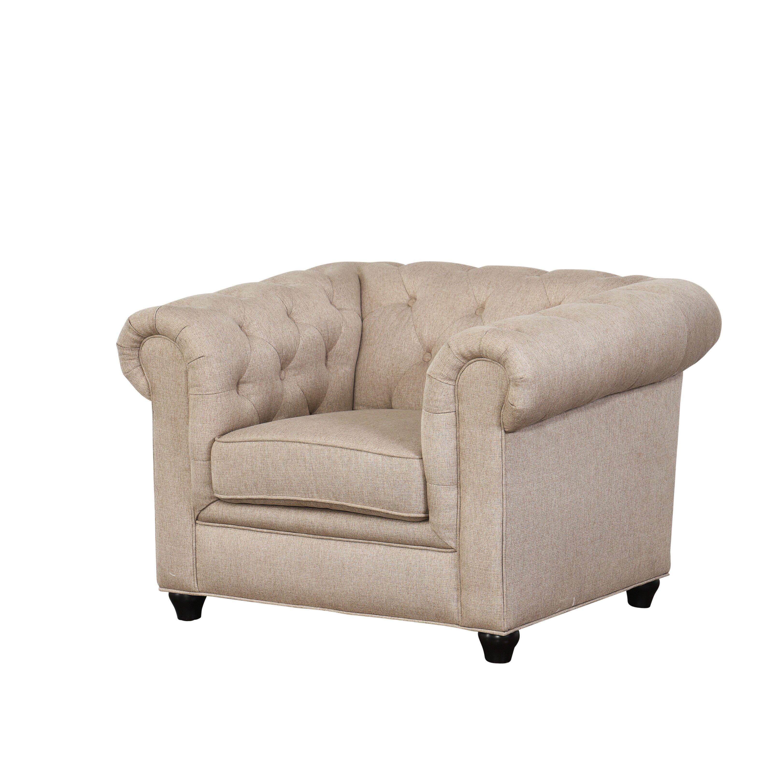 One allium way breaux sofa and armchair set wayfair for Sofa armchair
